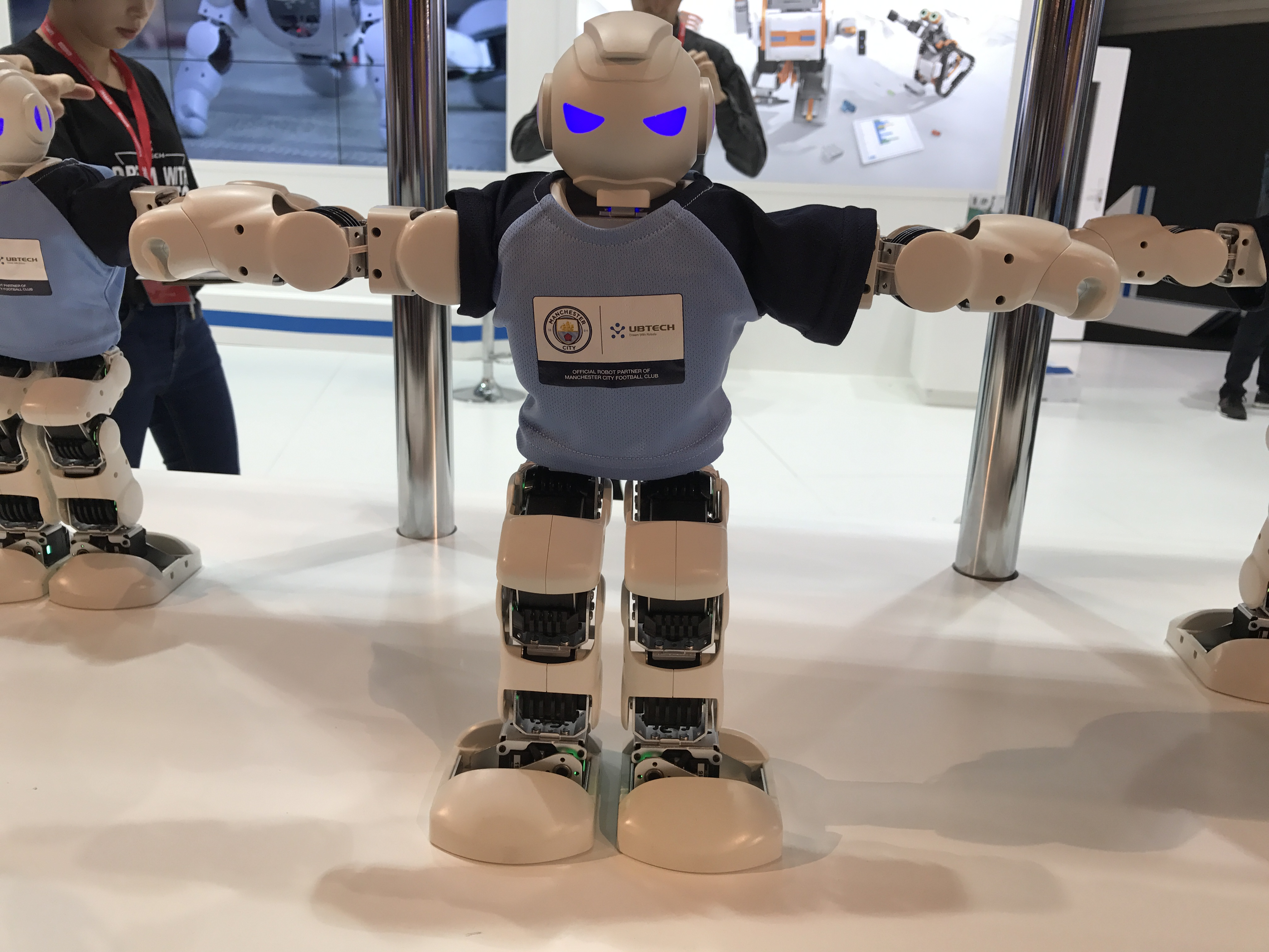 Robots on display at the IFA conference