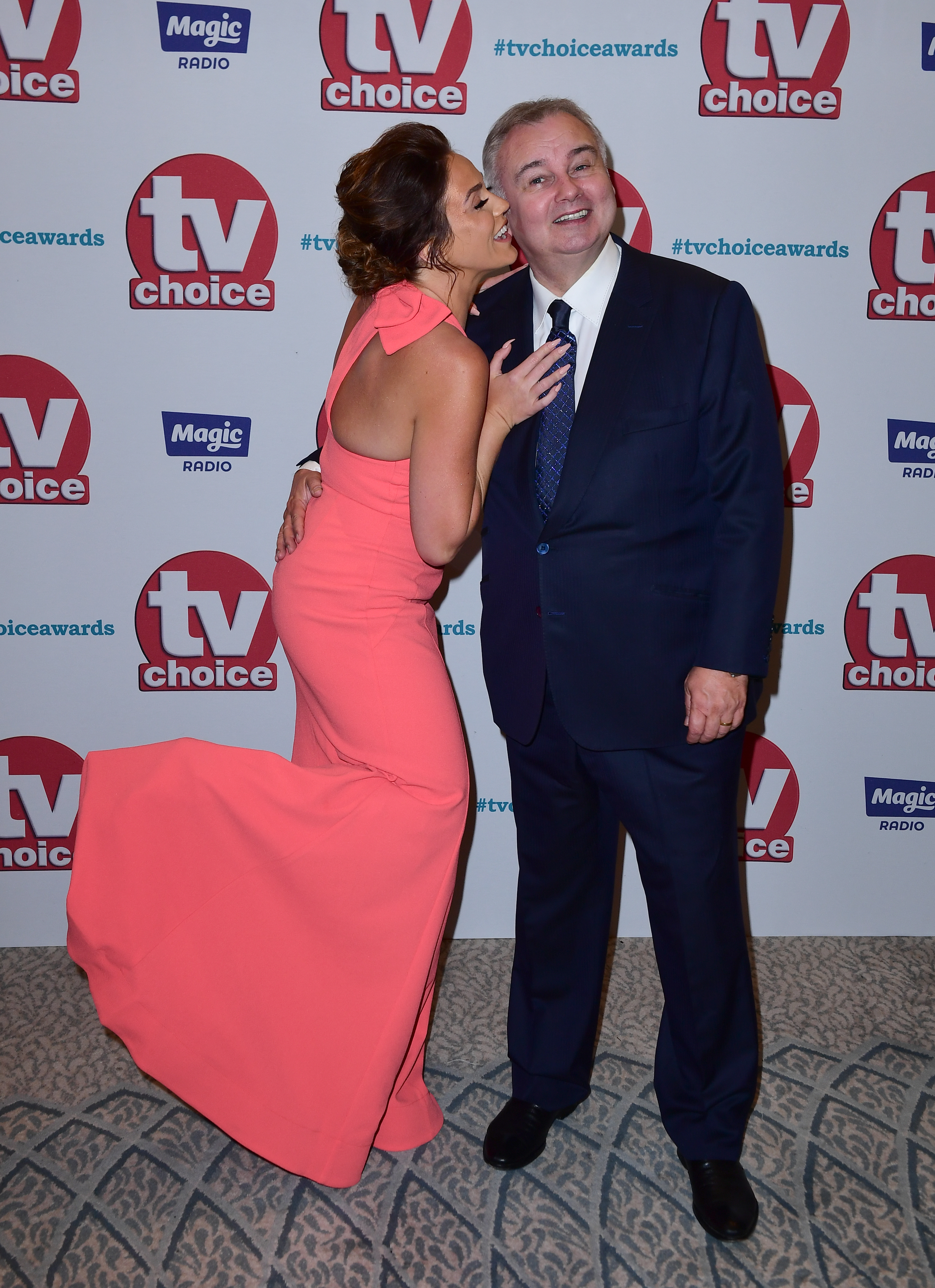 Vicky Pattison and Eamonn Holmes