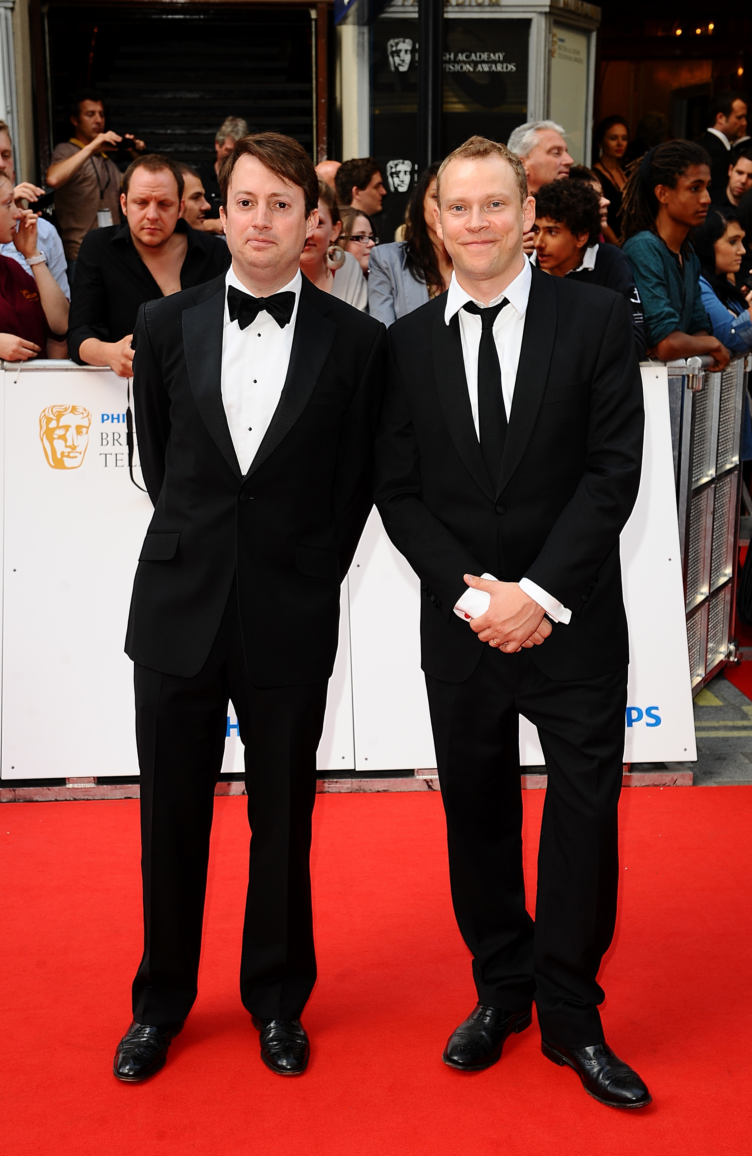 david mitchell its nice working with robert webb �after