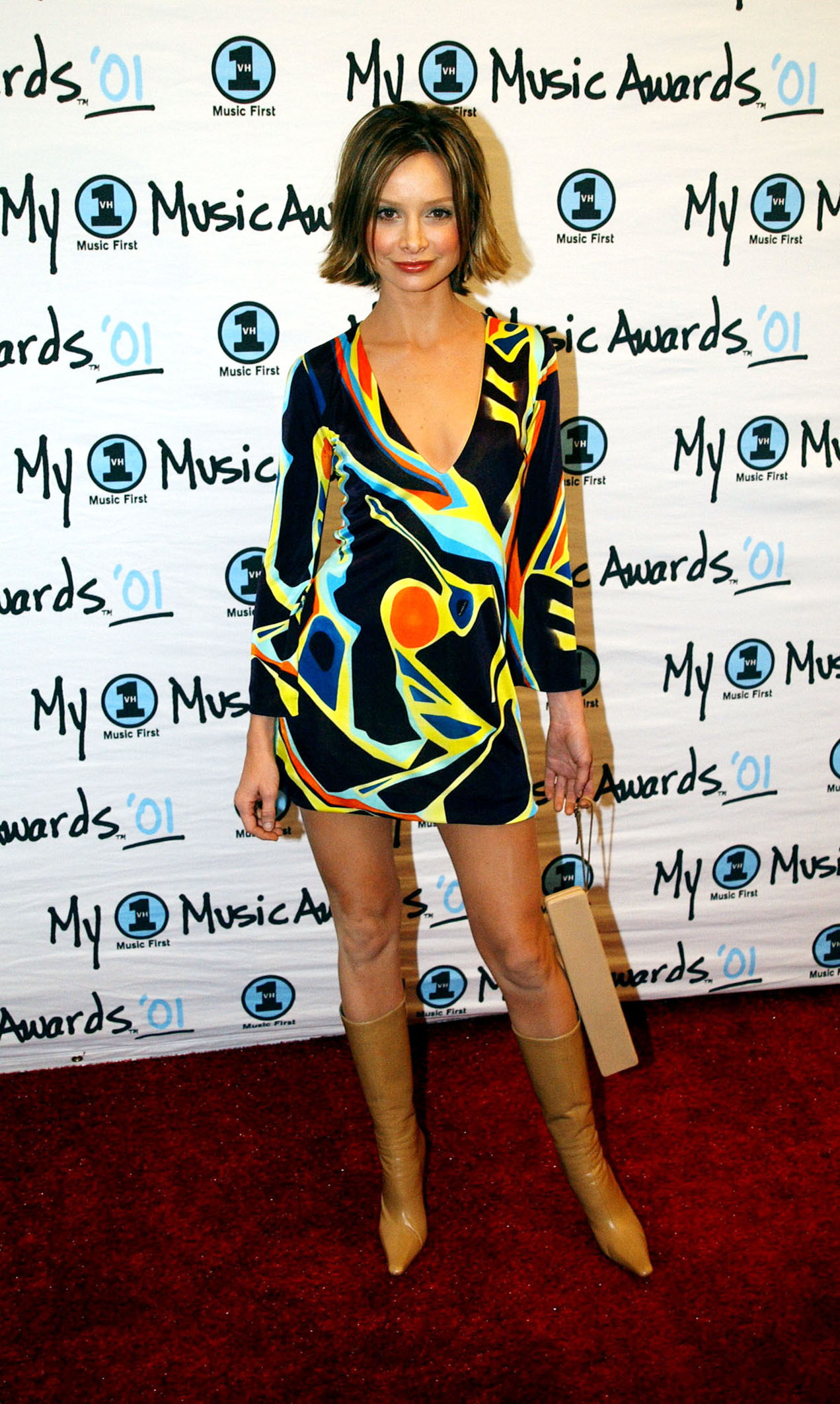 Ally McBeal actress Calista Flockhart at the VH1 Music Awards