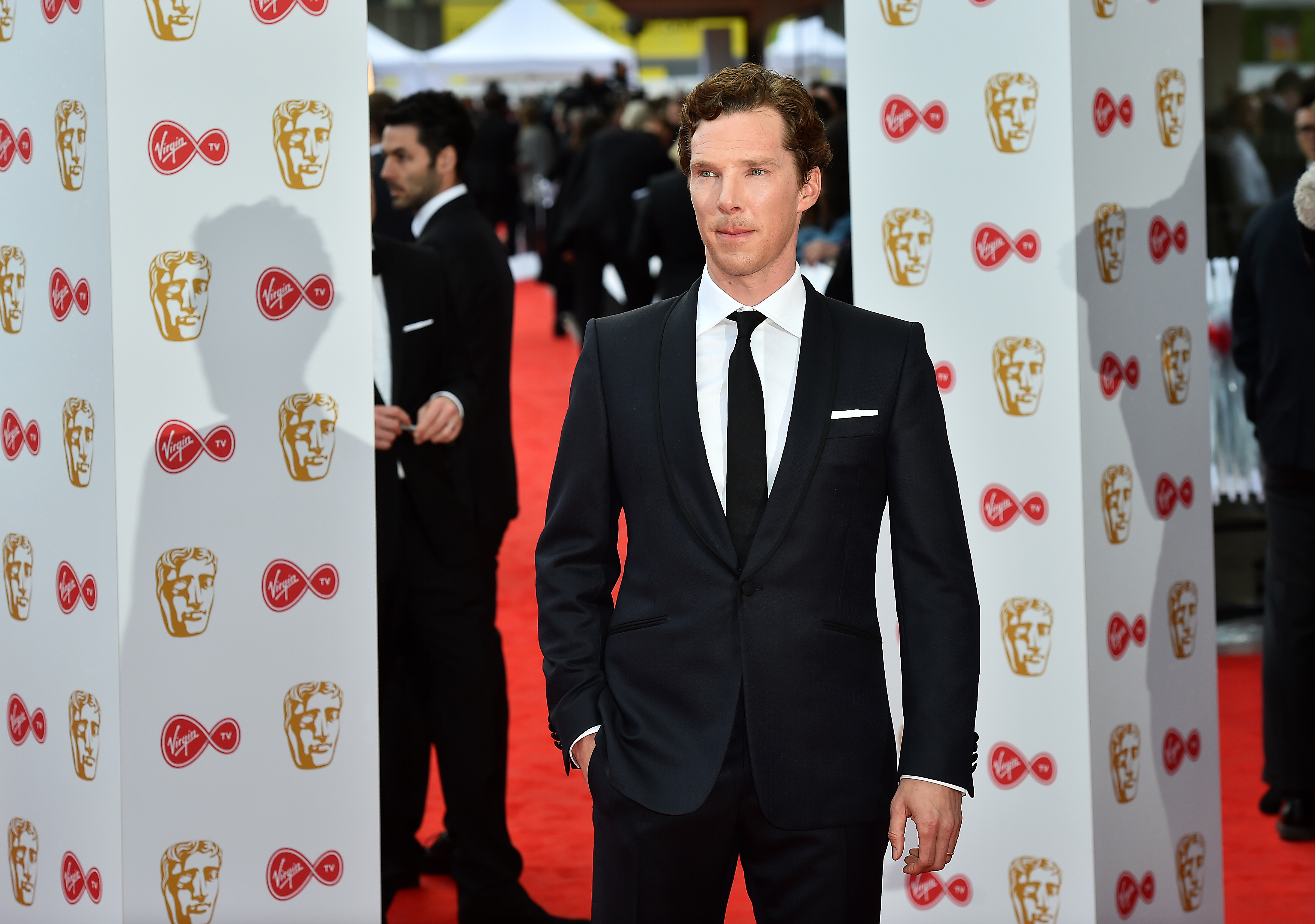 Benedict Cumberbatch arriving for the British Academy Television Awards 2017 (Matt Crossick/PA)