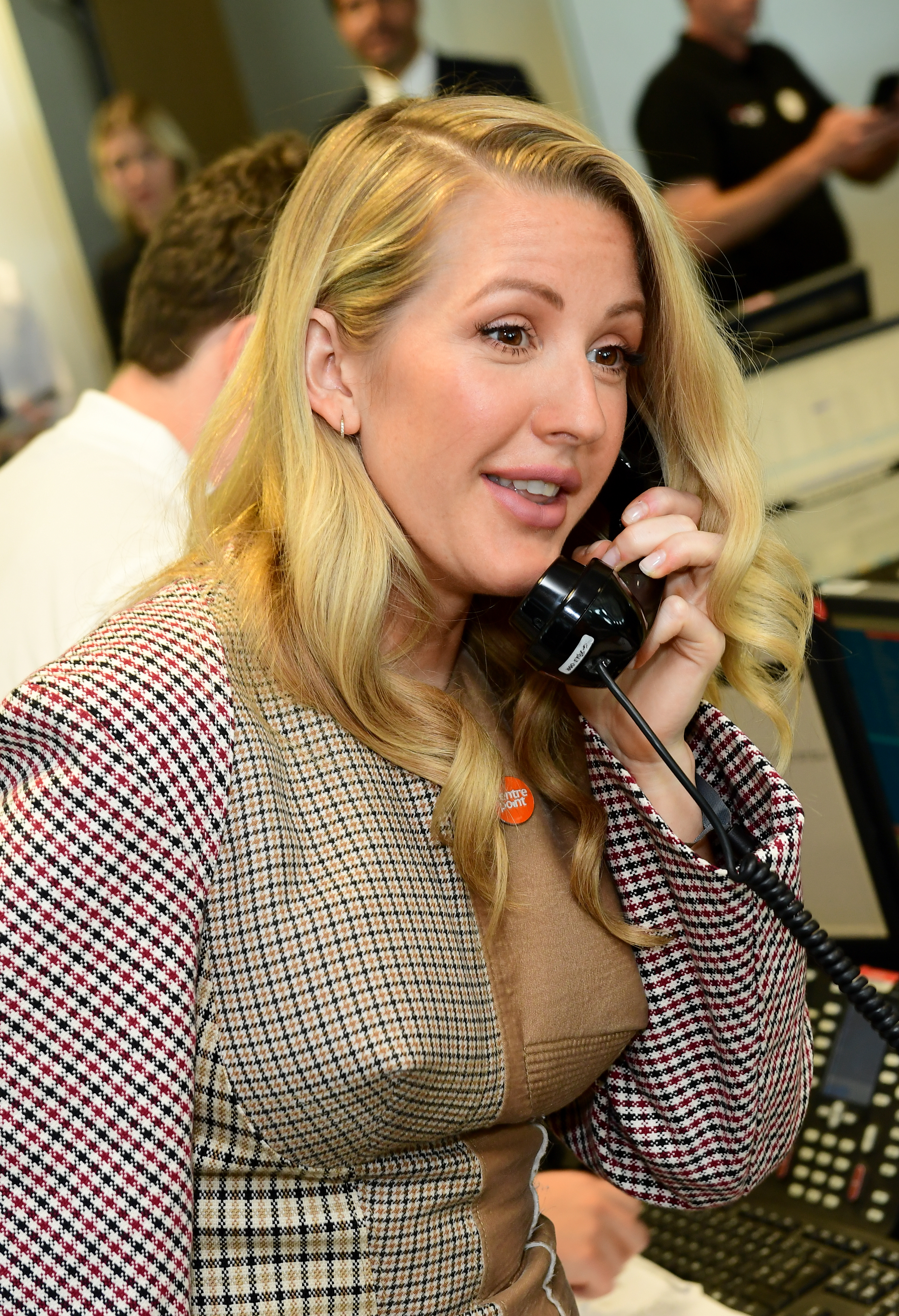 Ellie Goulding during the 13th BGC Annual Charity Day (Ian West/PA)