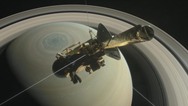 Cassini makes 'goodbye kiss' flyby of Titan