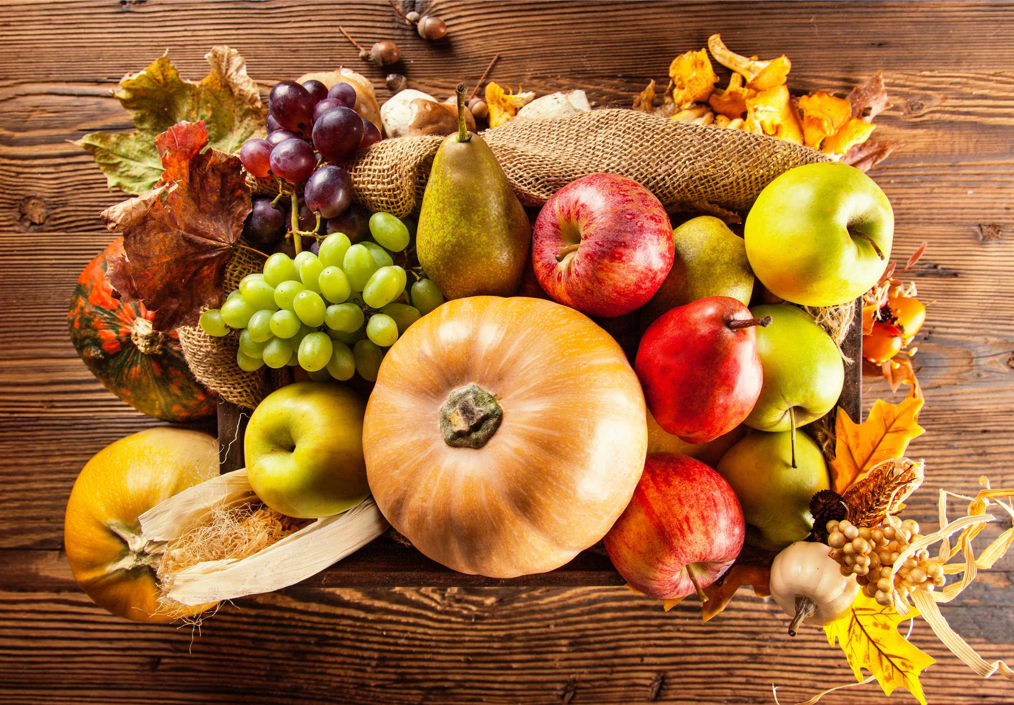 Autumn vegetables (Thinkstock/PA)