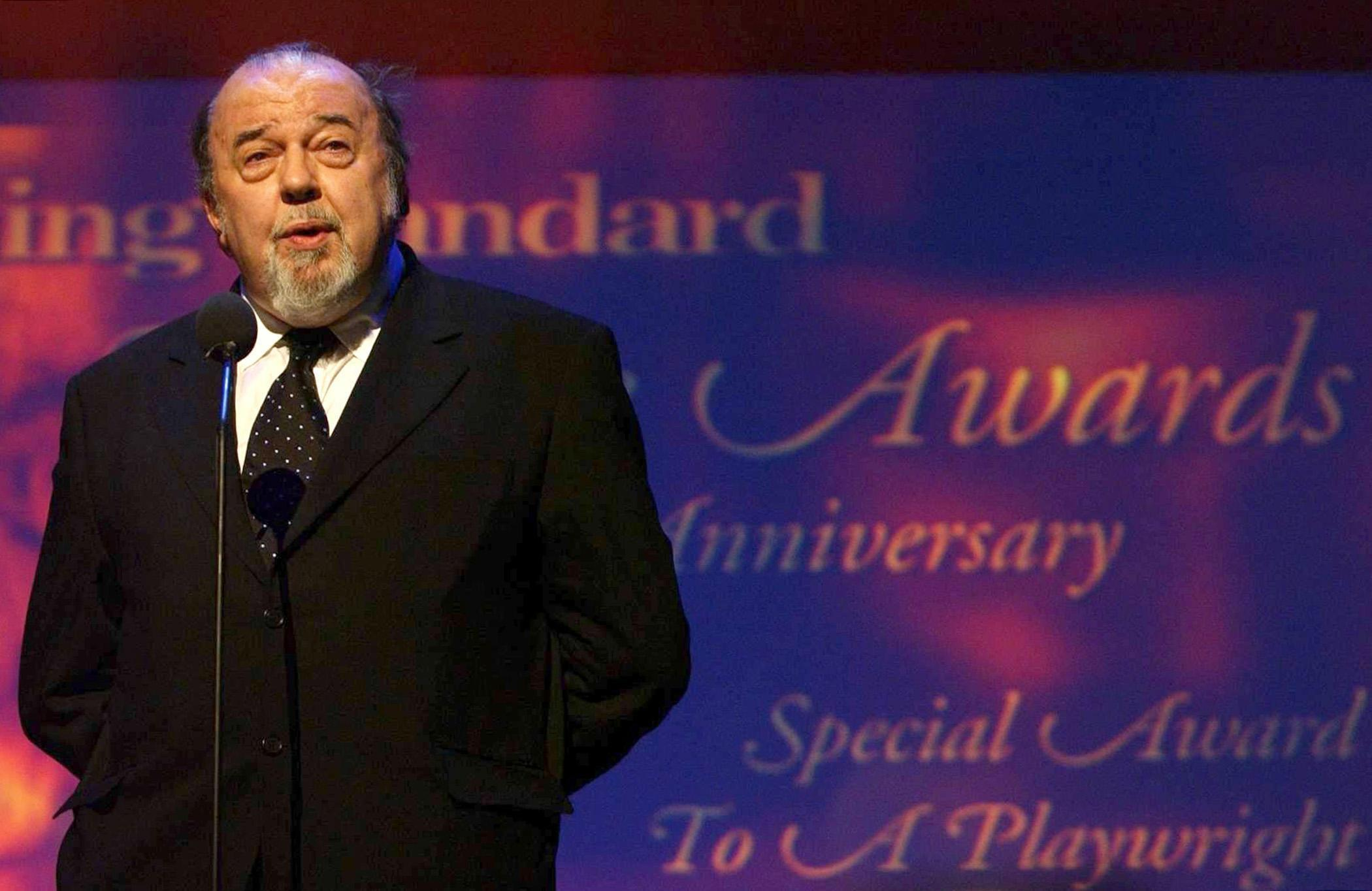 Theatre legend, Sir Peter Hall, dies aged 86, while battling dementia