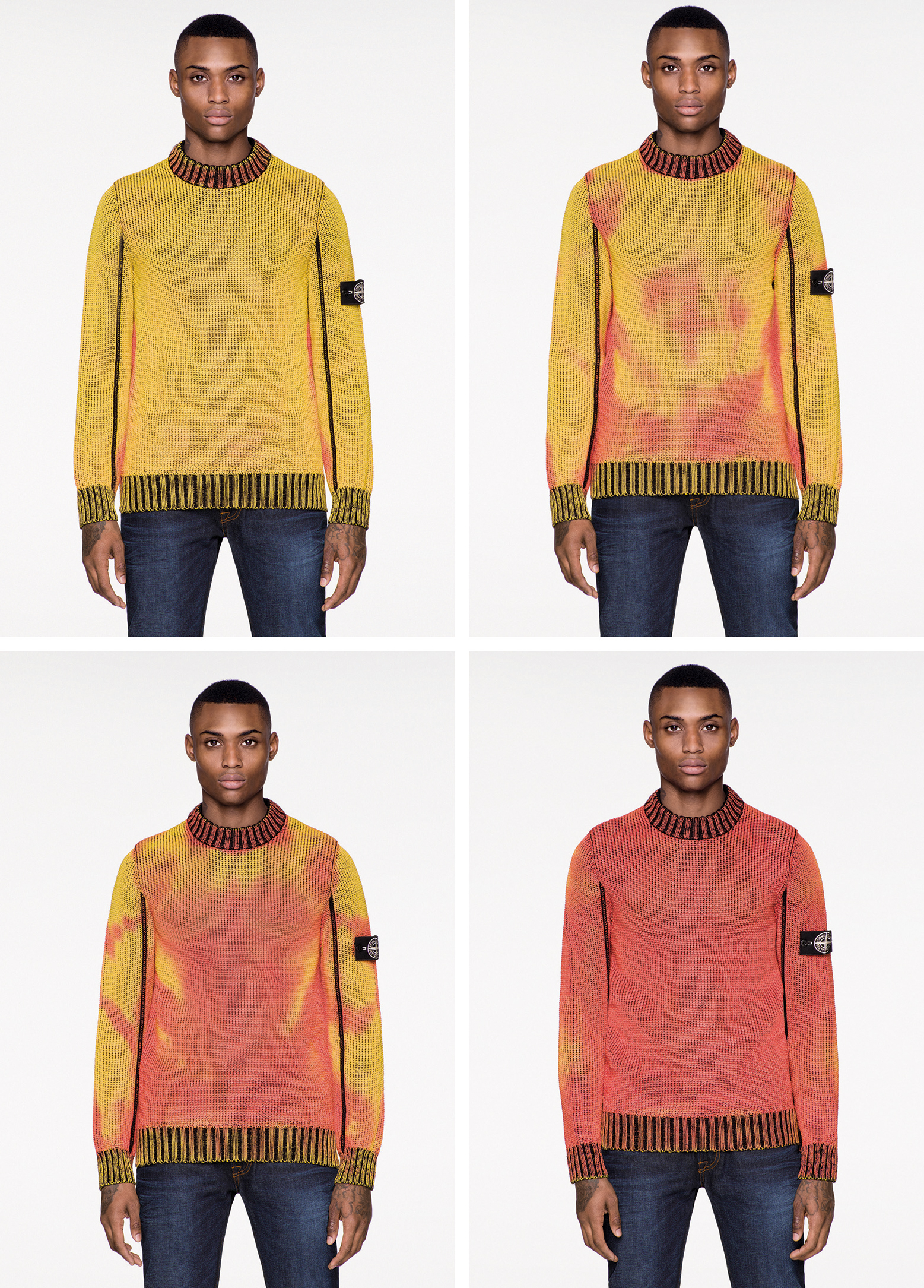 This Autumnal Looking Sweater Changes Colour In Different