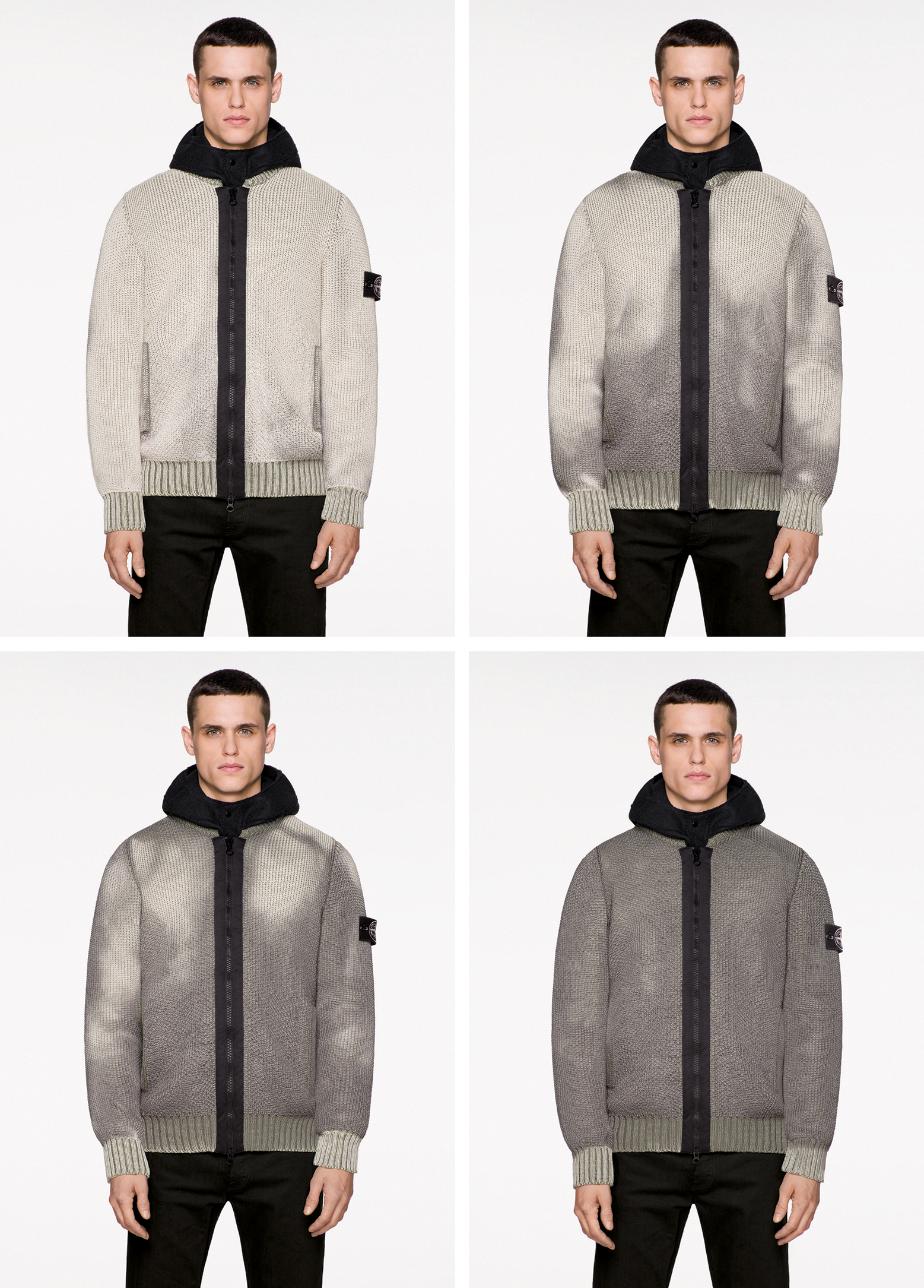 The colour changing Ice Knit from Stone Island (Stone Island)