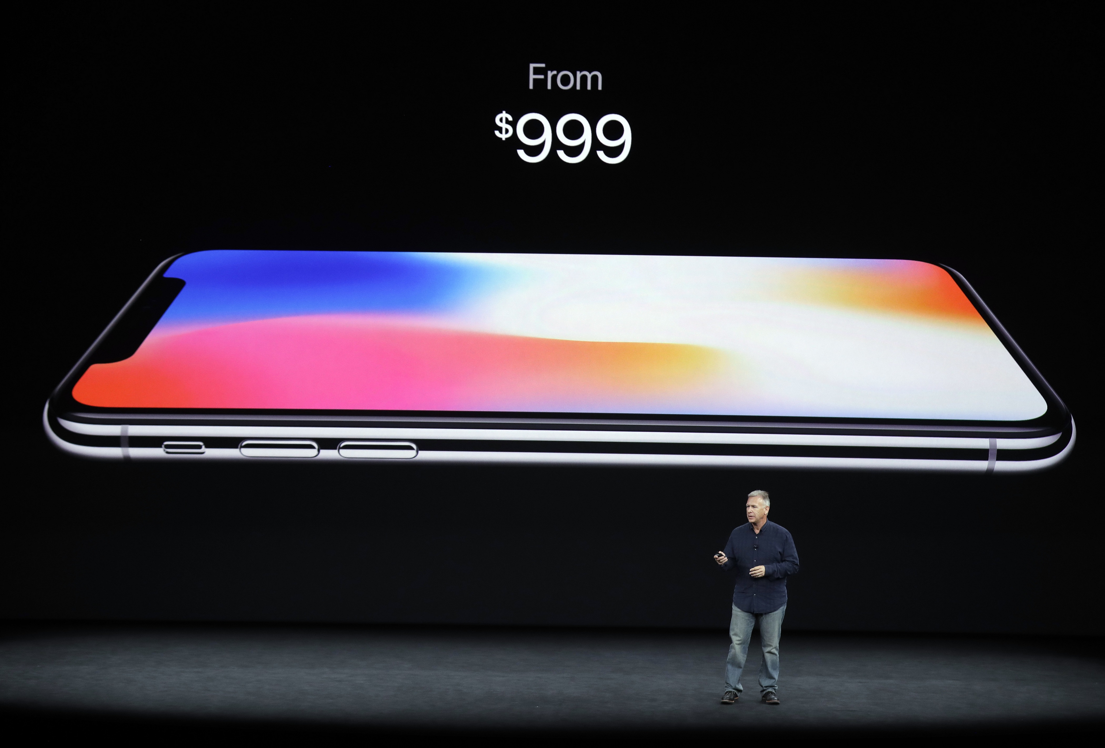 iPhone X with price