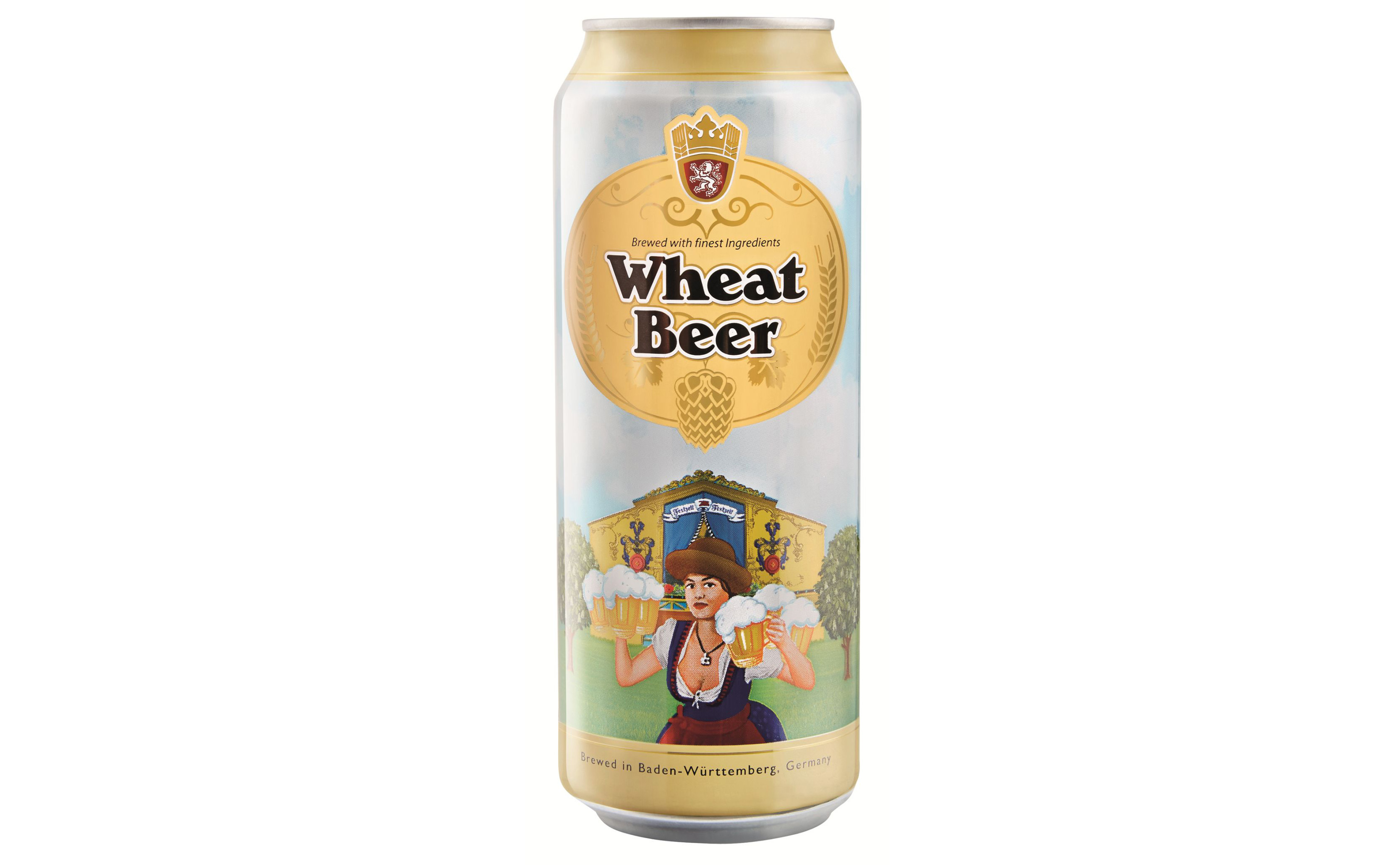 Wheat Beer from Lidl (Lidl/PA)