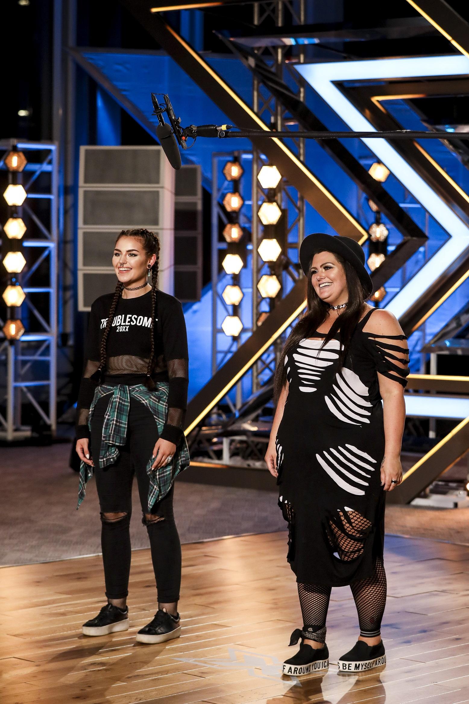 Descendance on The X Factor