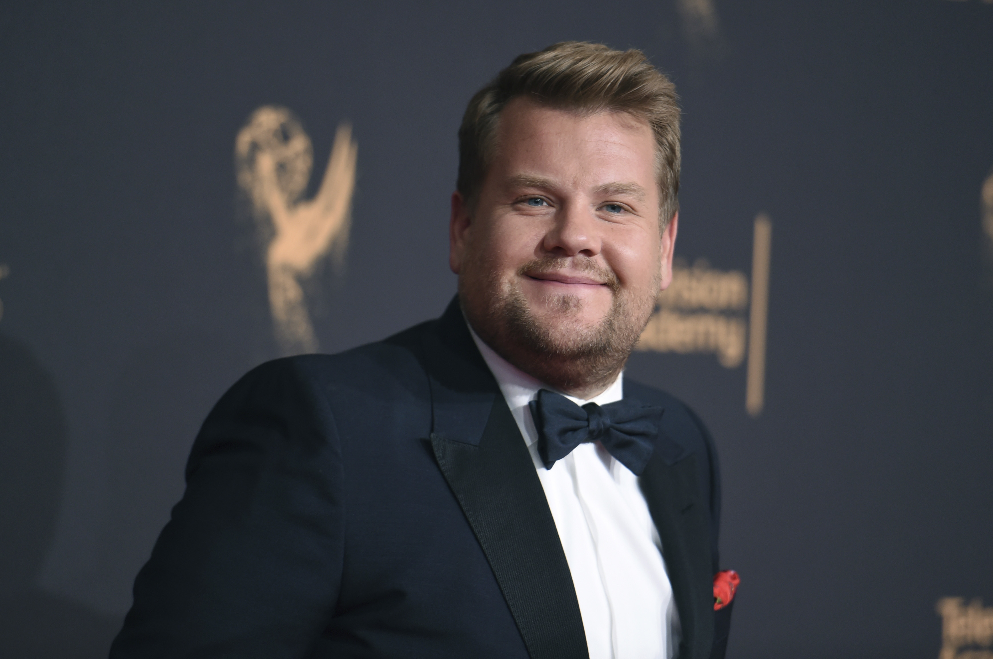 James Corden blasted for smooching Trump's chump