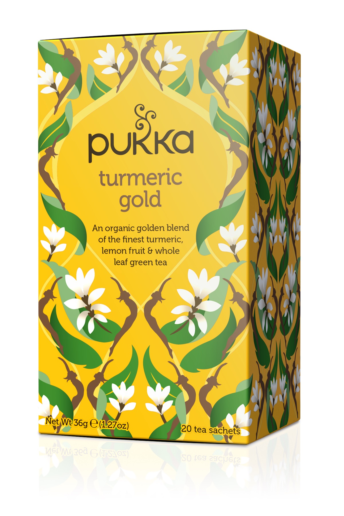 Pukka Turmeric Gold, RRP £2.49 for box of 20 bags (Pukka/PA)