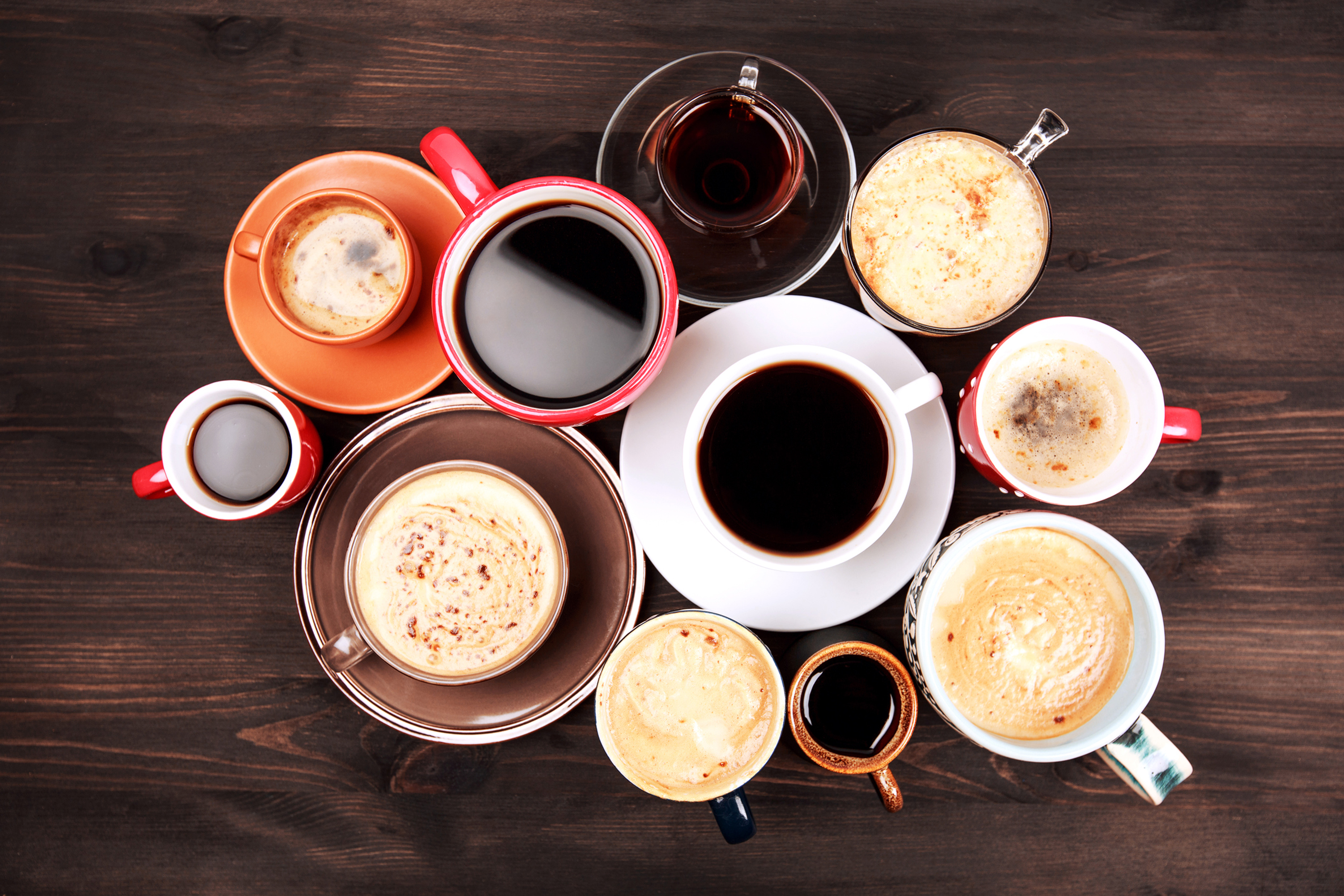 Lots of cups of coffee (Thinkstock/PA)