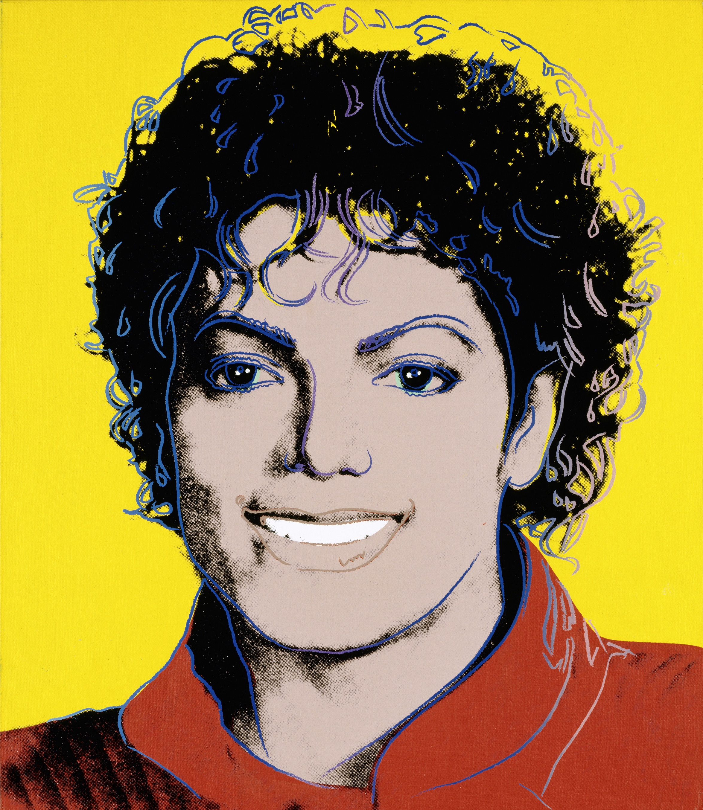 Michael Jackson (1984) by Andy Warhol (National Portrait Gallery)