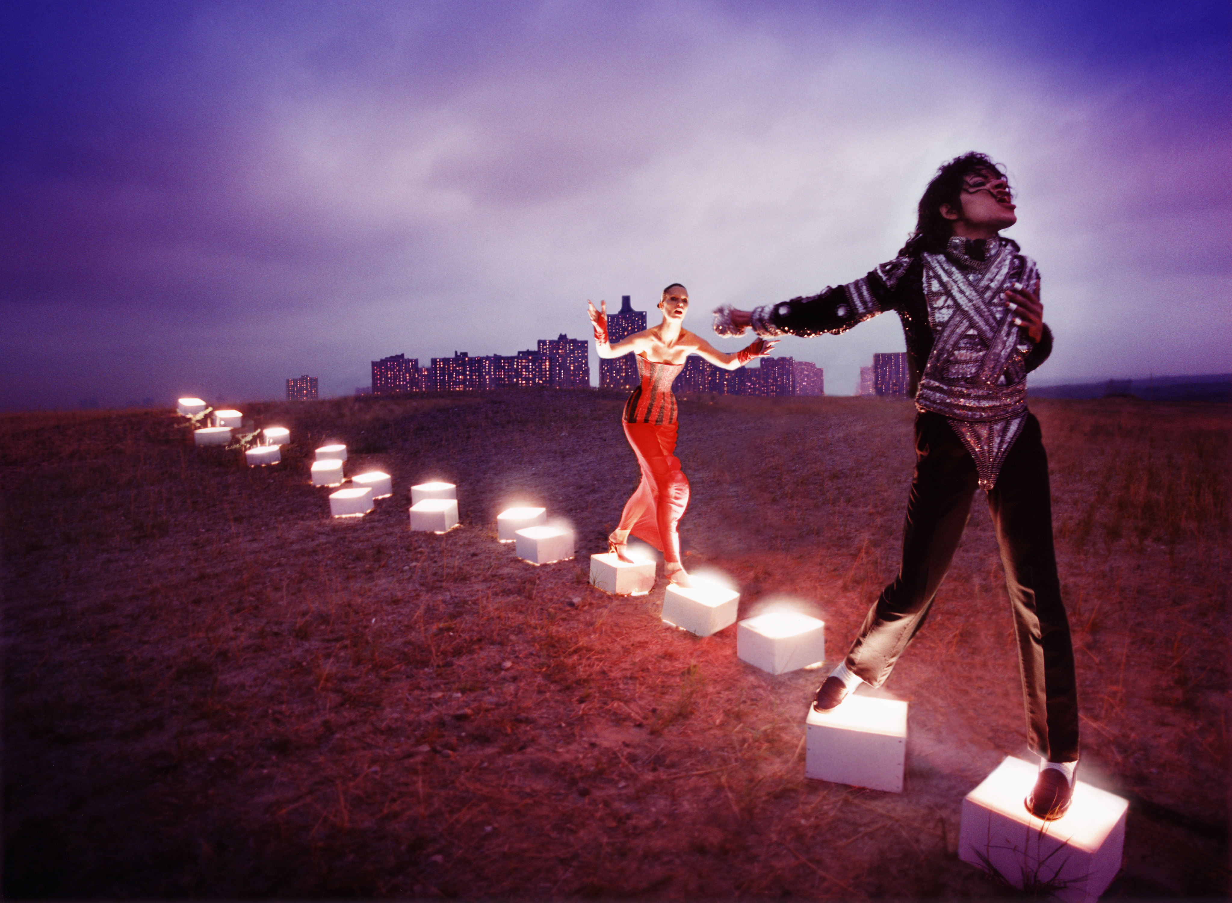 An Illuminating Path by David LaChapelle (National Portrait Gallery)