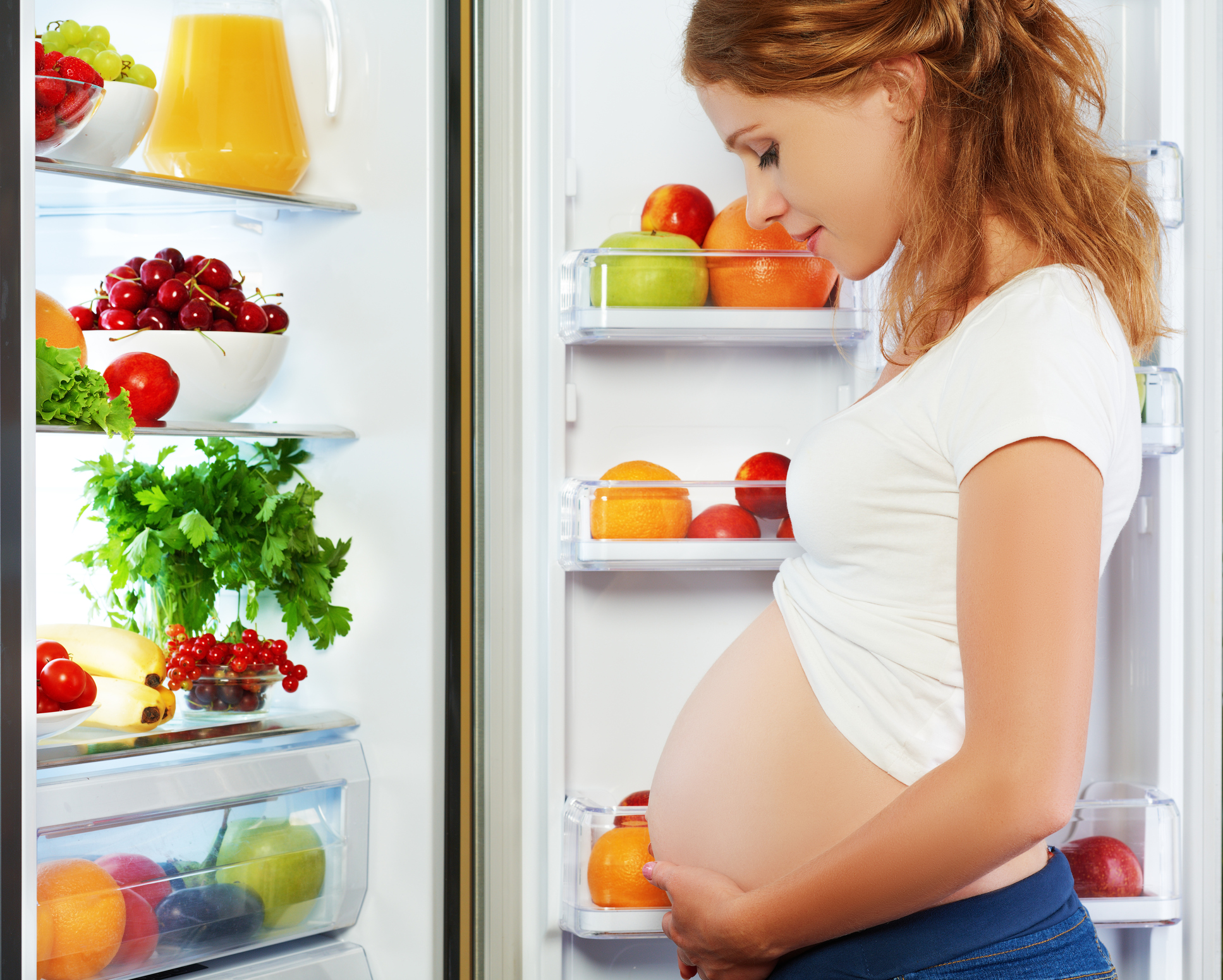 Woman looking in a fridge (Thinkstock/PA)