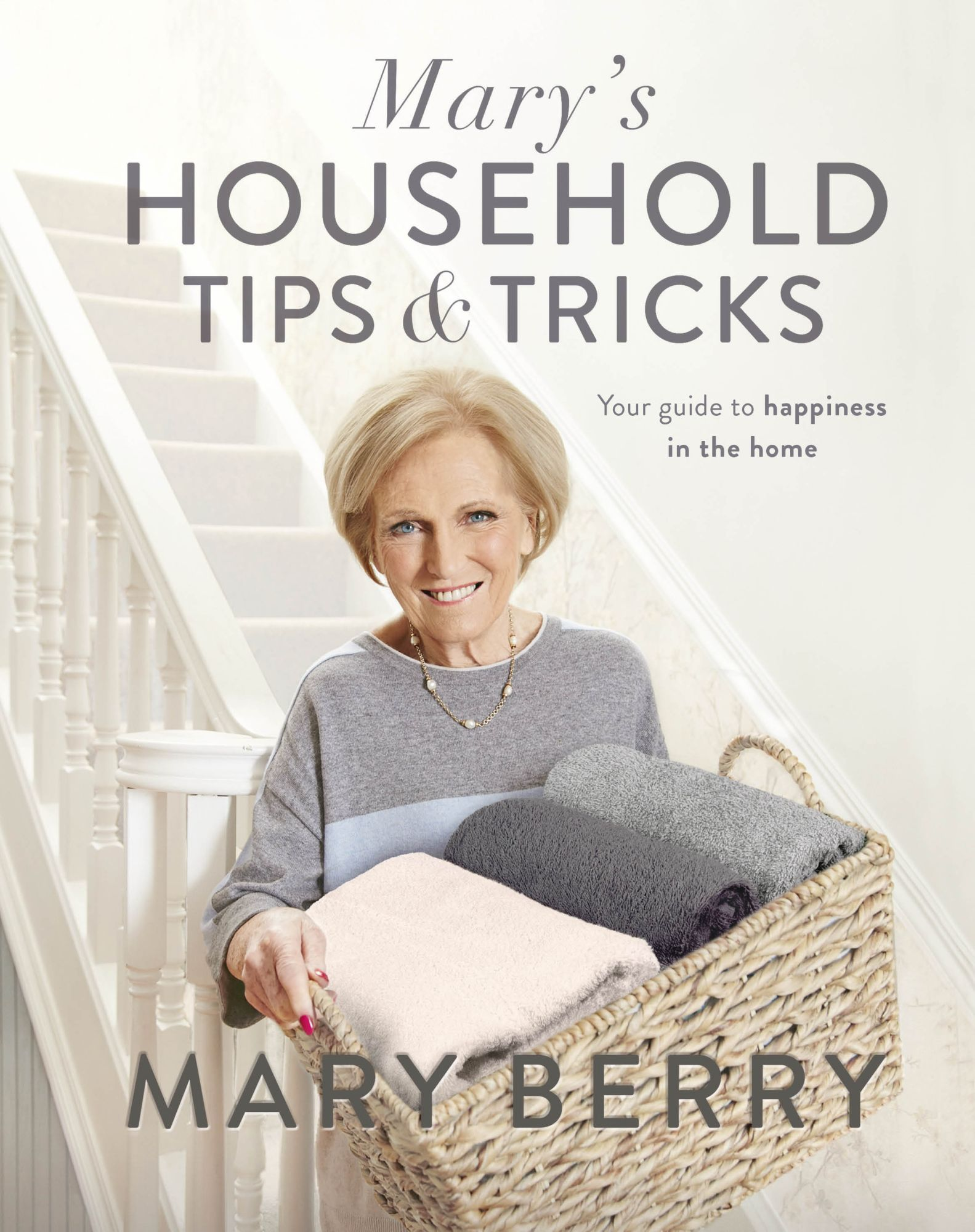 Household cleaning items in Mary's Household Tips & Tricks published by Michael Joseph (Loupe/Michael Joseph/PA)