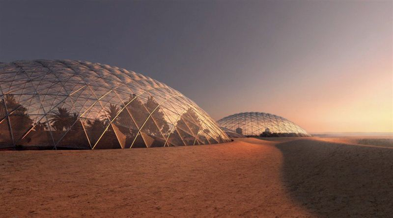 Dubai plans to to build a city that simulates life on Mars (Dubai Media Office)