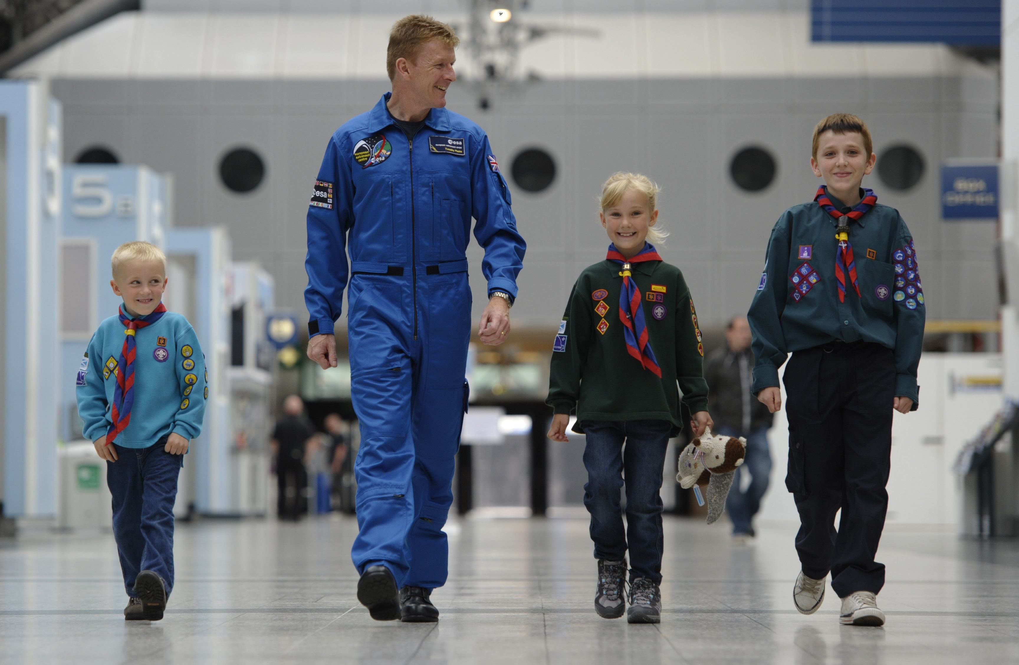 Major Tim hopes to encourage young explorers to carry on the space travel legacy.