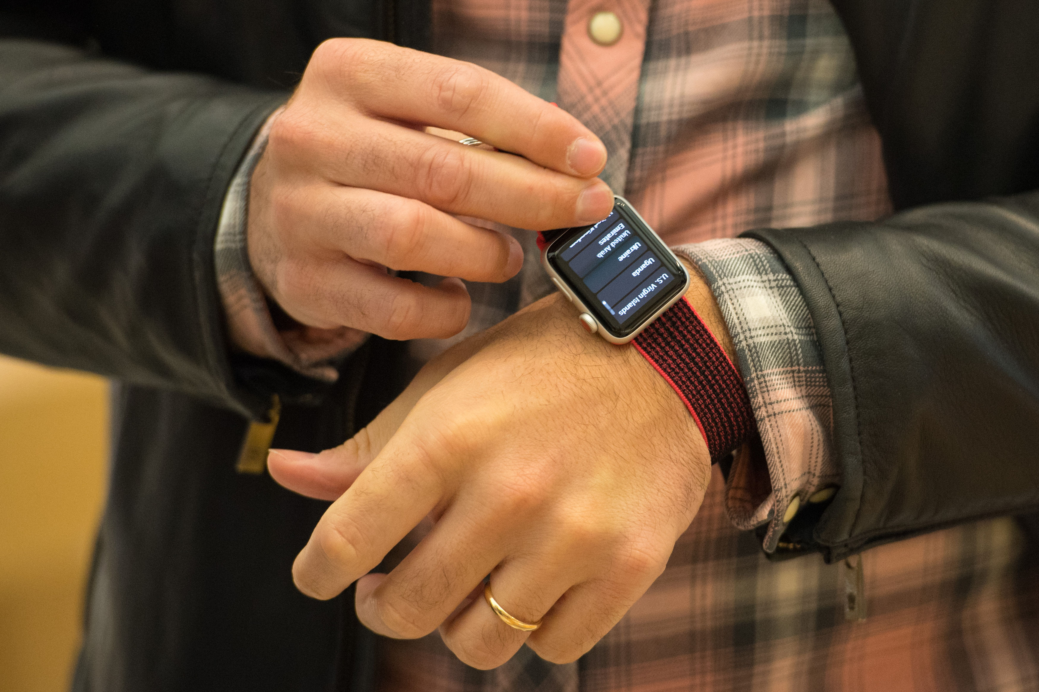 Wearables are curreently limited by things like battery life (Dominic Lipinski/PA)