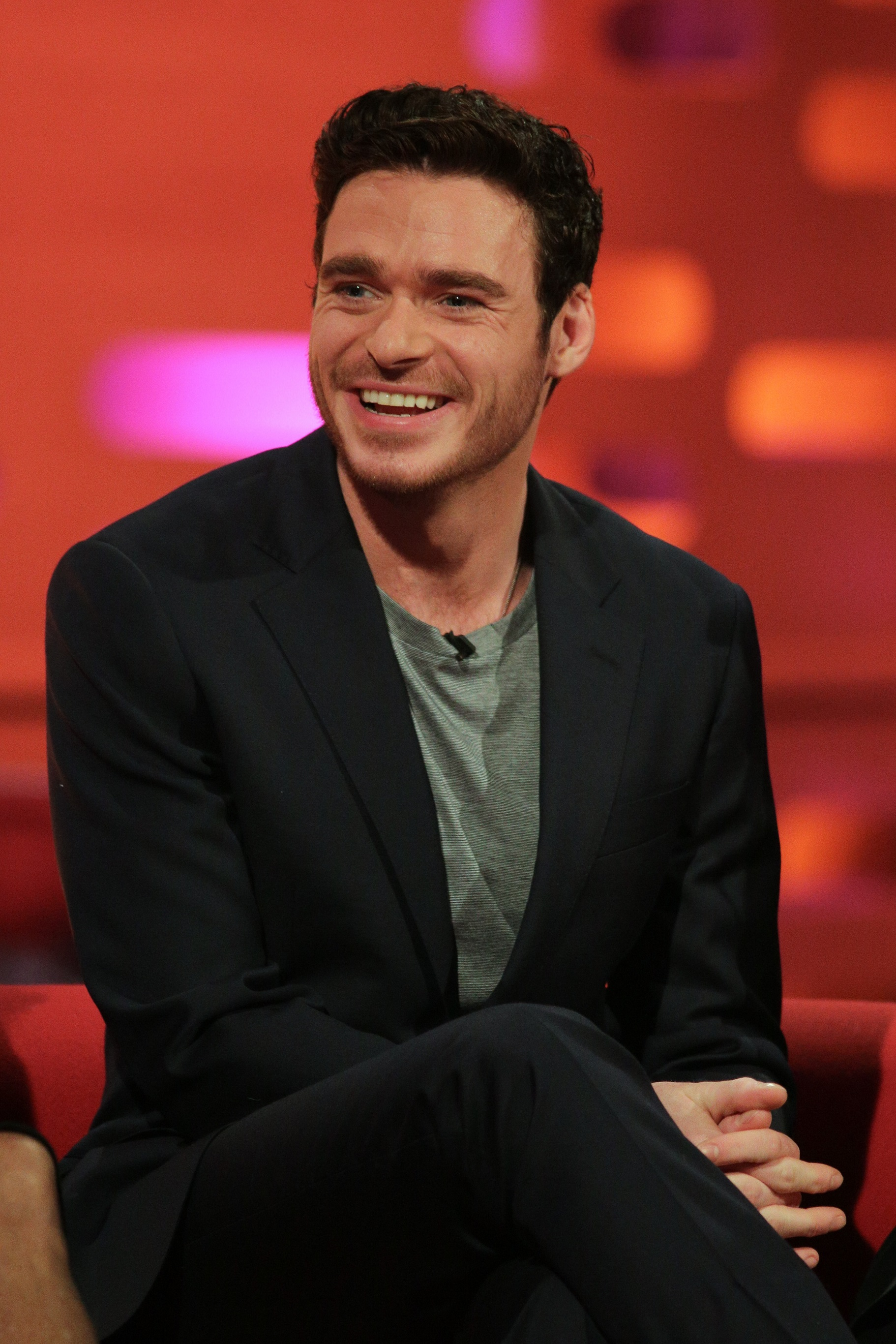 Richard Madden on the Graham Norton Show (Daniel Leal-Olivas/PA)