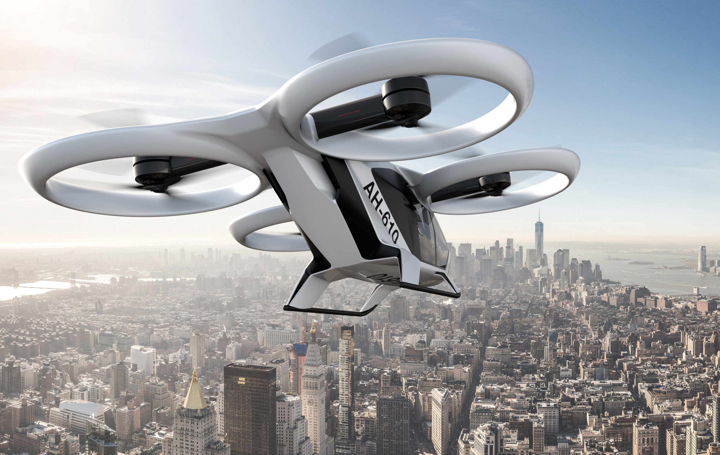 Flying taxis to operate from next year