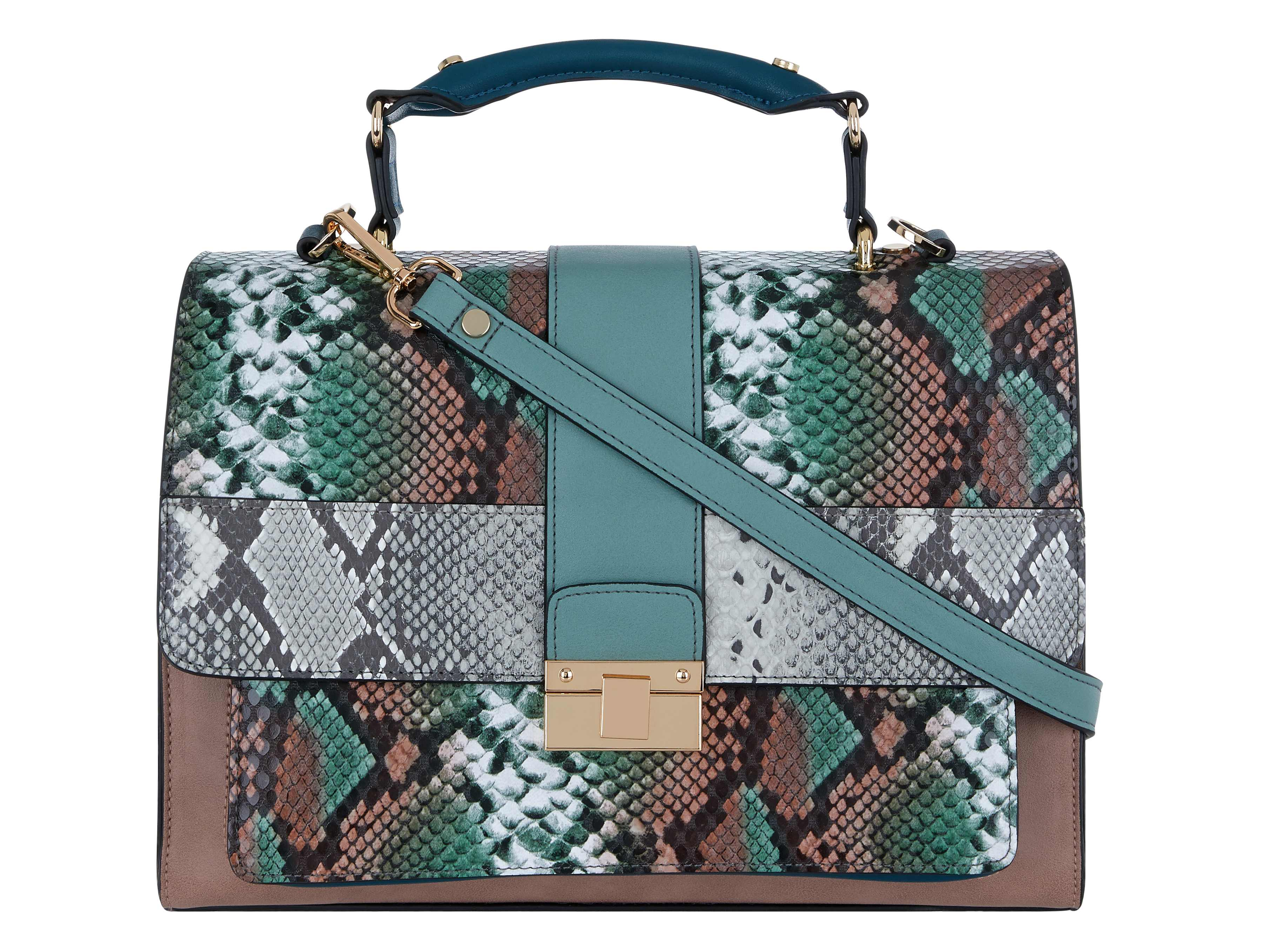 3. Accessorize Snake Handheld Bag, £40 (Accessorize/PA)