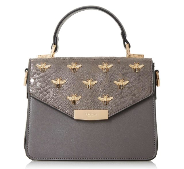 Dune Dessie Grey Bag, £60 (Dune/PA)