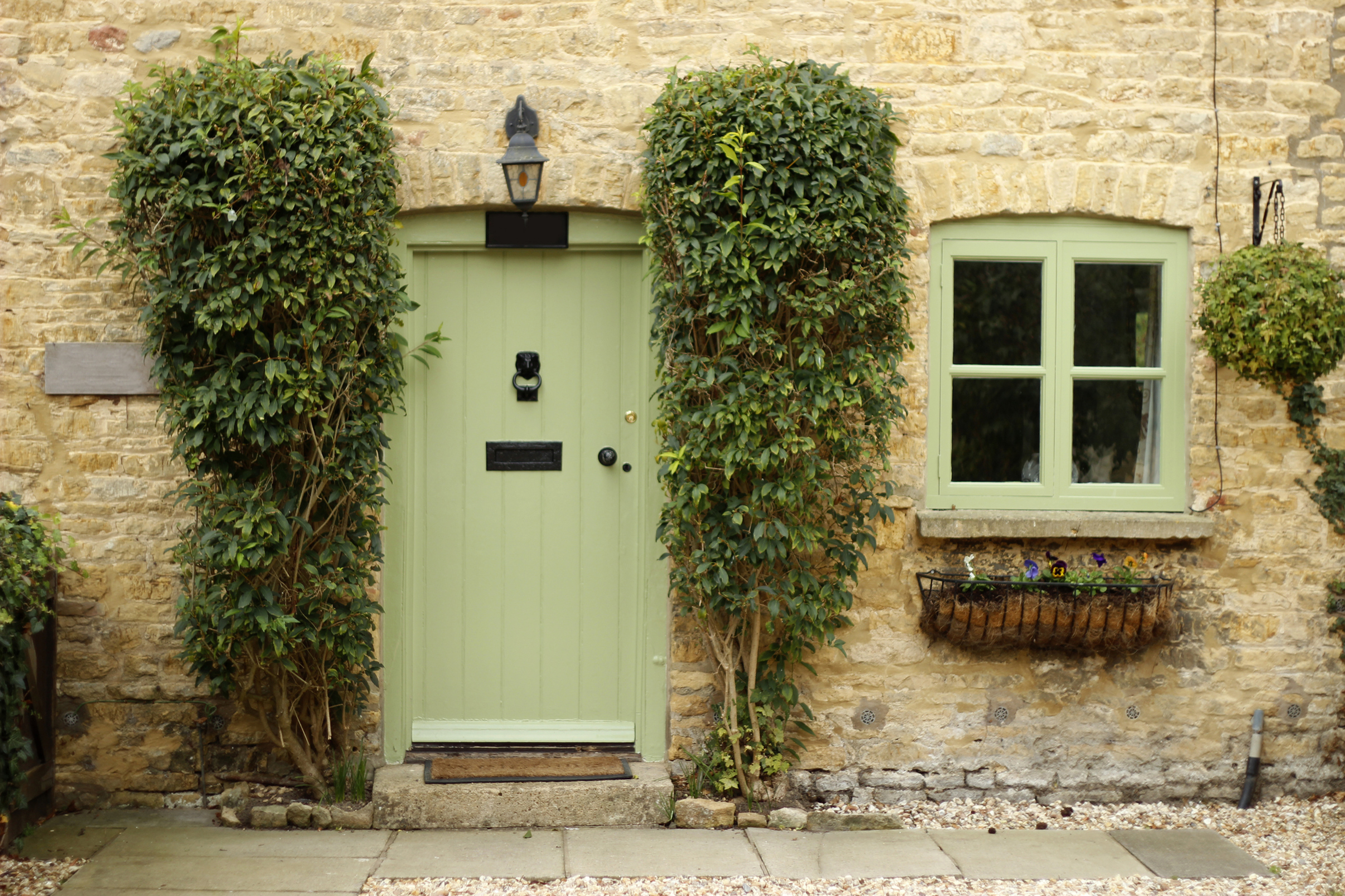 Picture of a lovely front door
