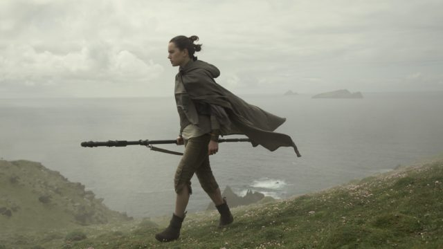 Rey (Daisy Ridley) in The Last Jedi