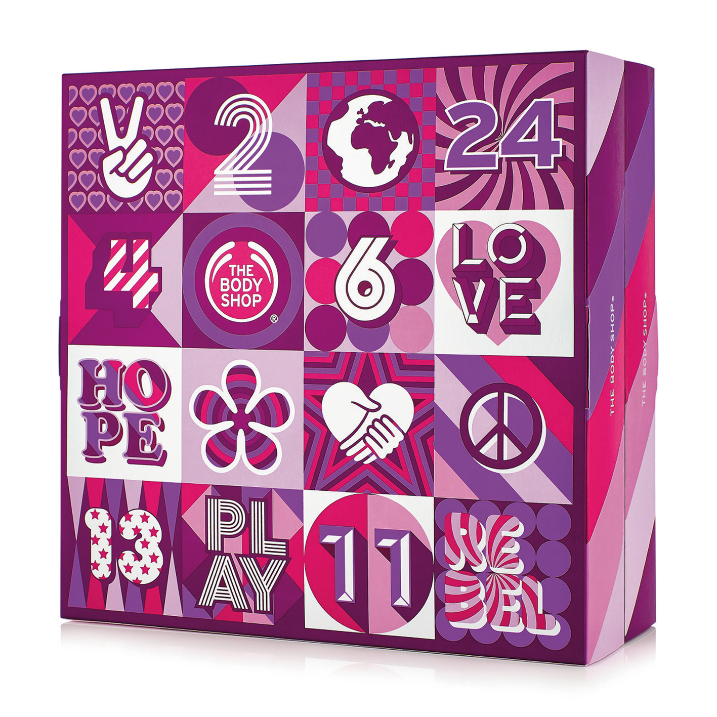 Picture of The Body Shop's Advent calendar