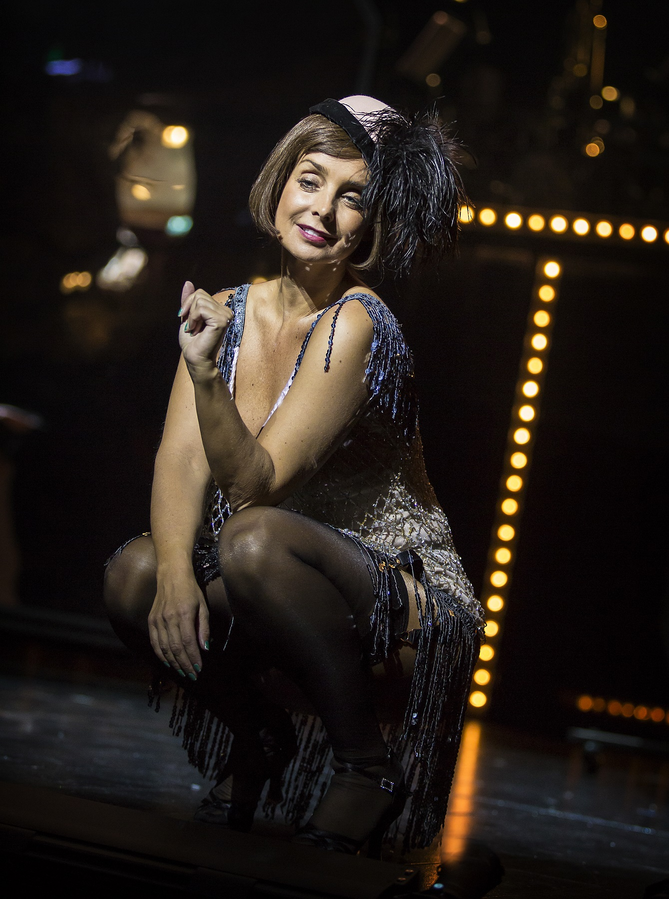 Louise Redknapp as Sally Bowles in Cabaret (Pamela Raith)