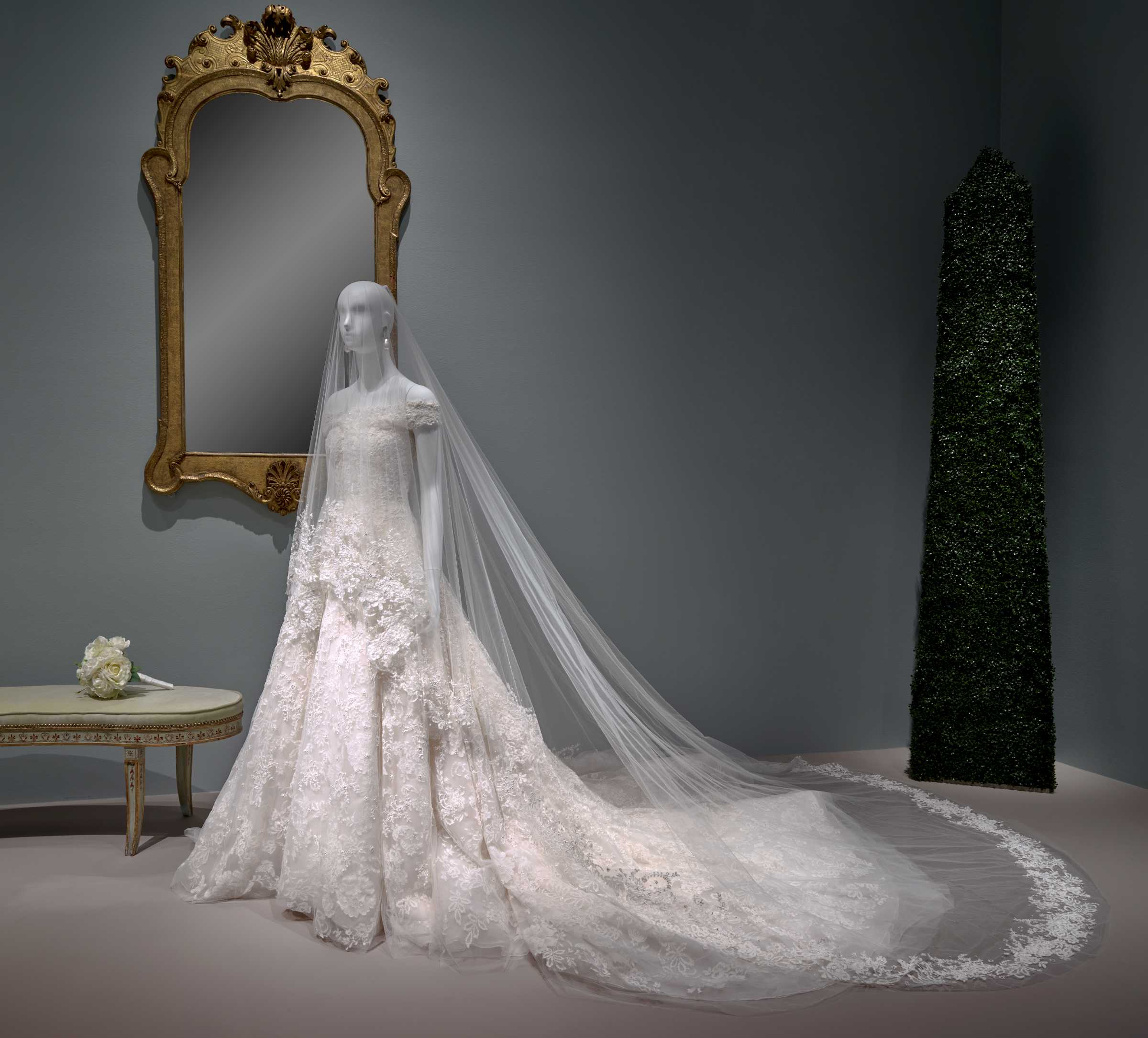 Amal Clooney's wedding dress