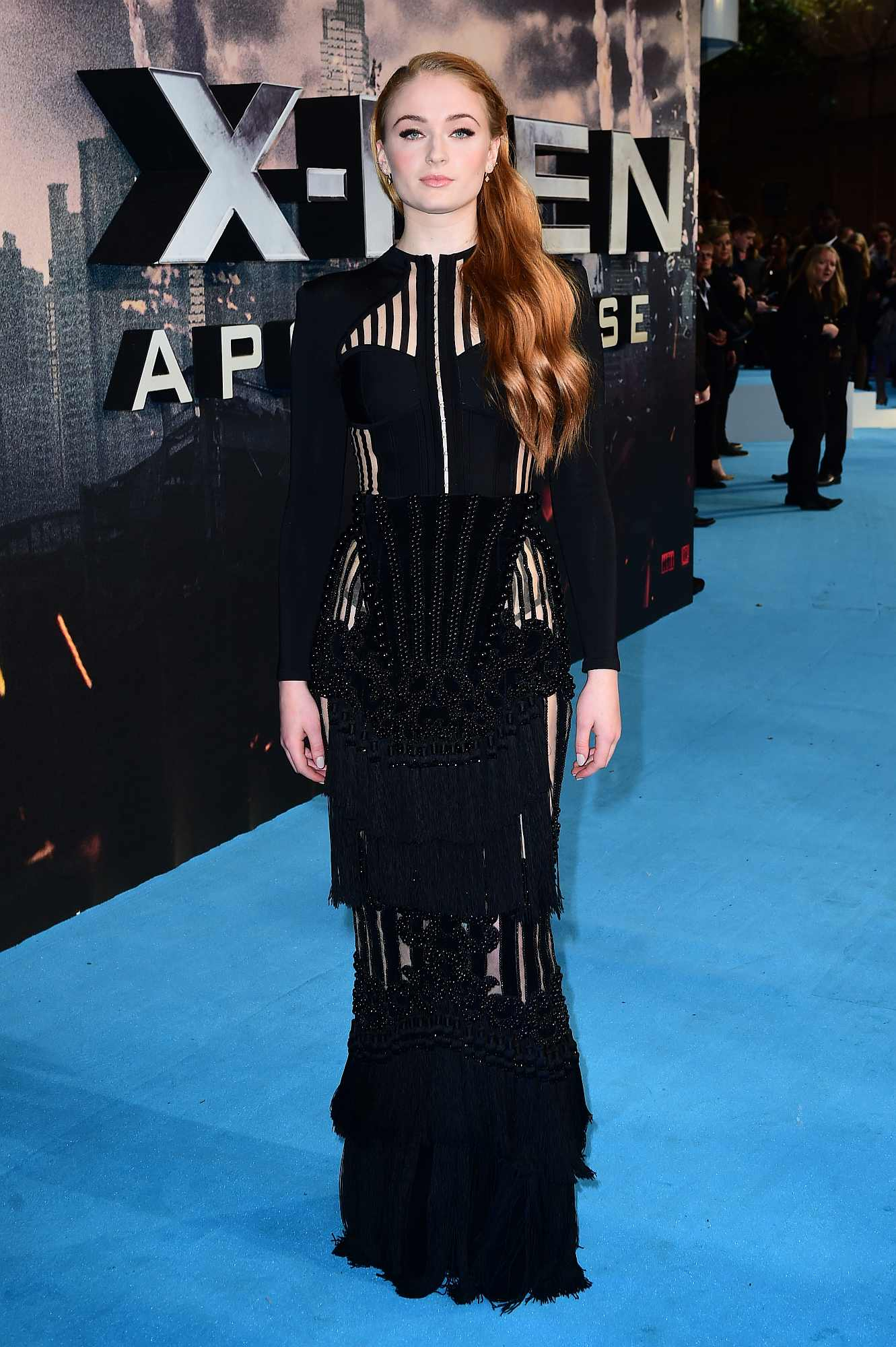 Sophie Turner attending the X Men: Apocalypse Global Fan Screening at the London's BFI IMAX