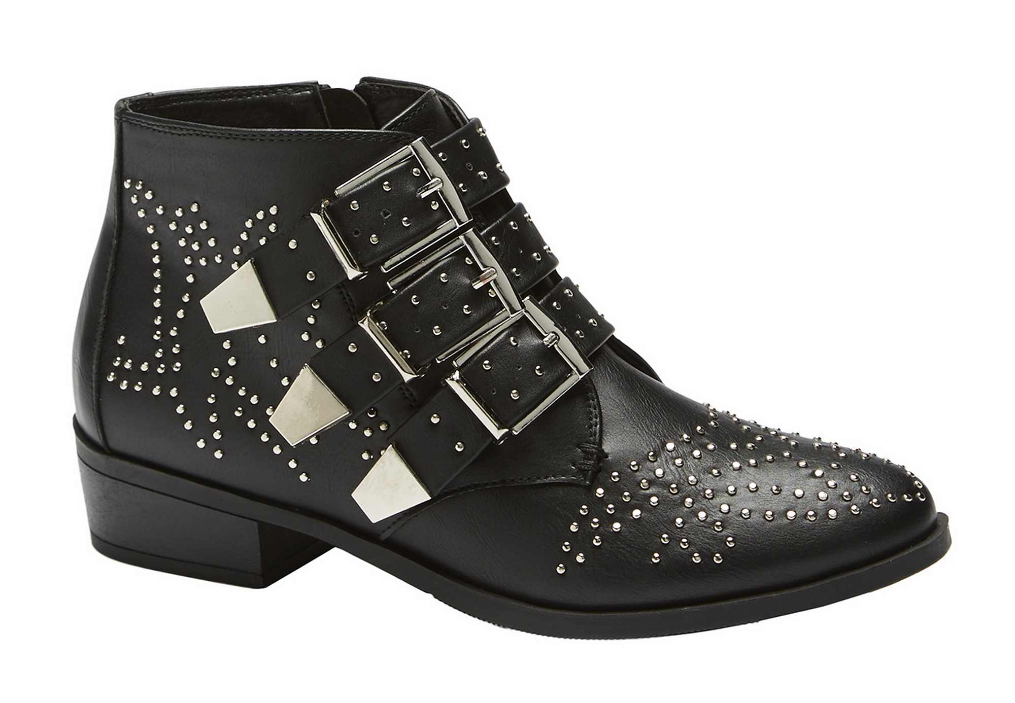 Be You Studded Flat Boots