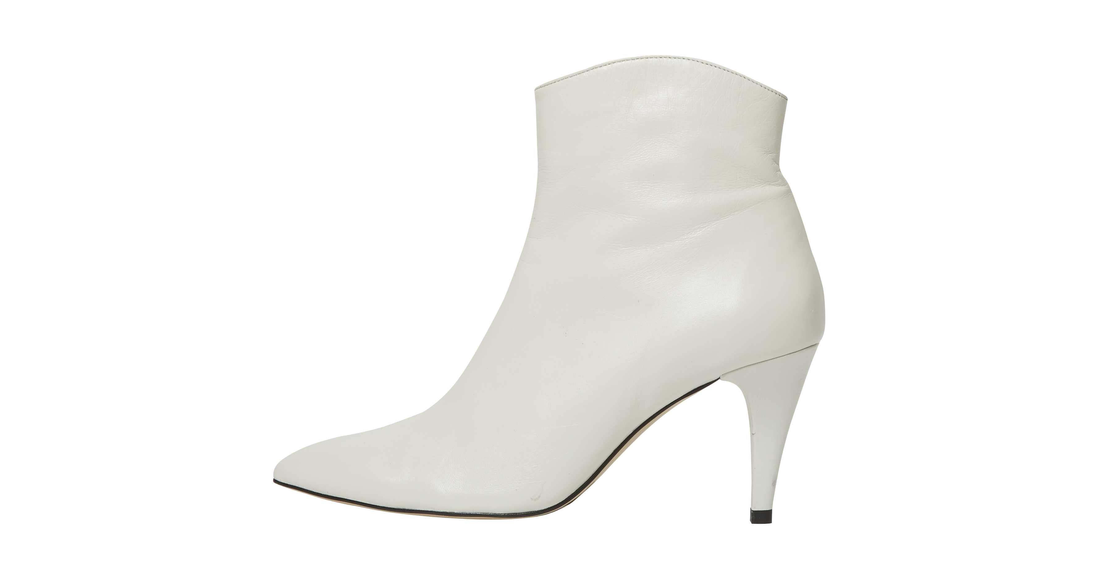 Office Ab Fab White Boots, £90