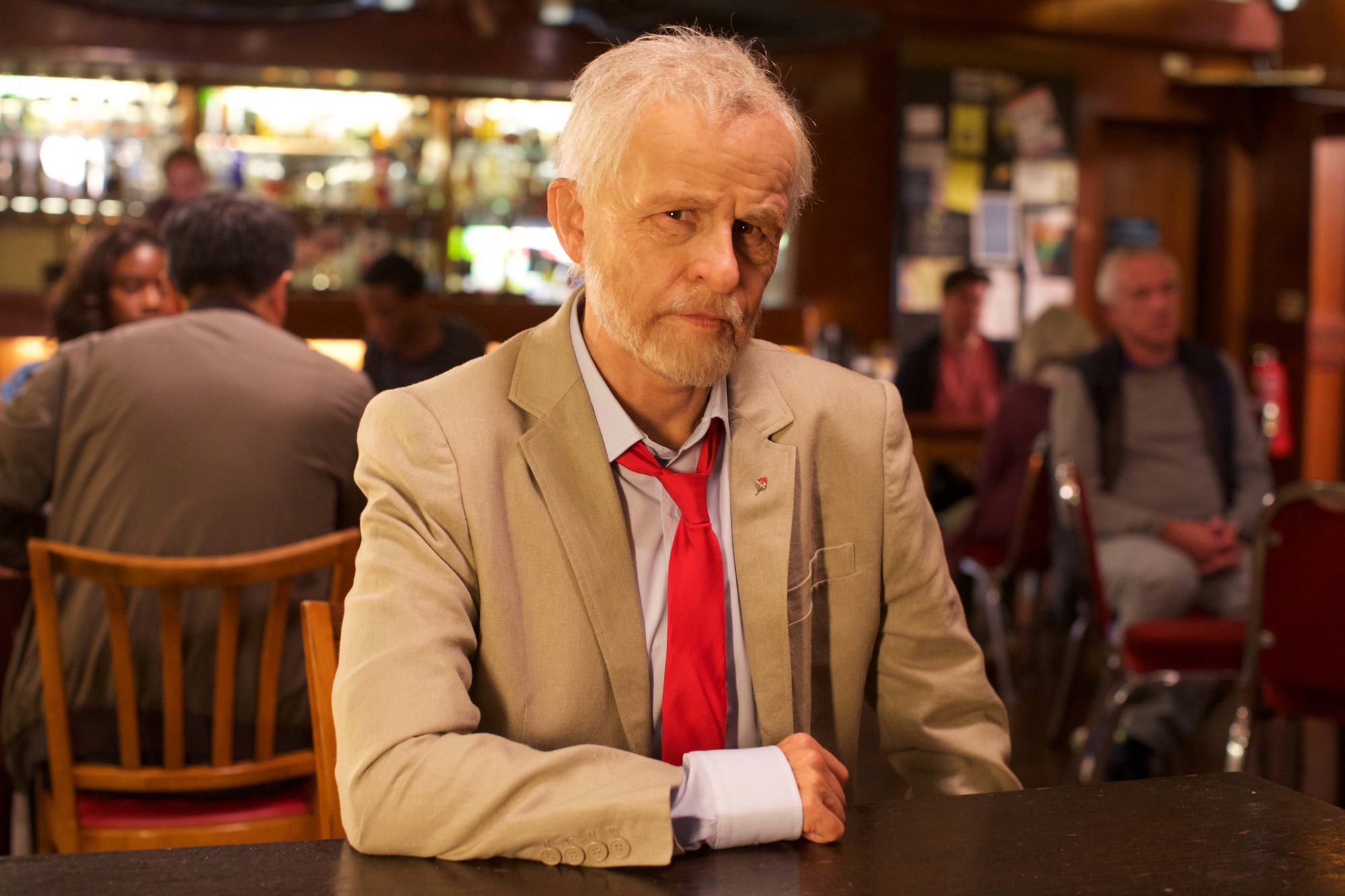 Tracey Ullman as Jeremy Corbyn