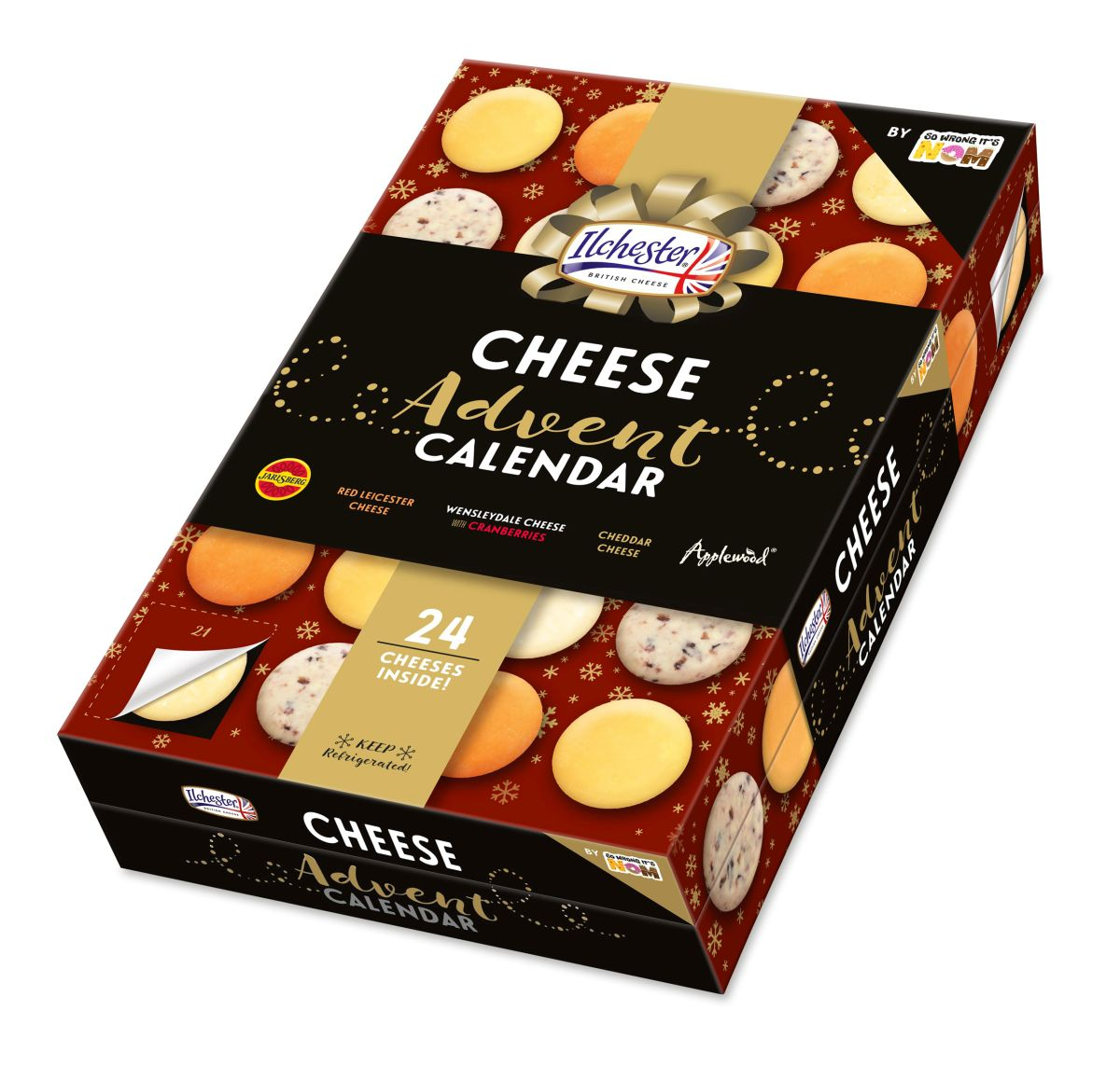 Asda's Cheese Advent Calendar