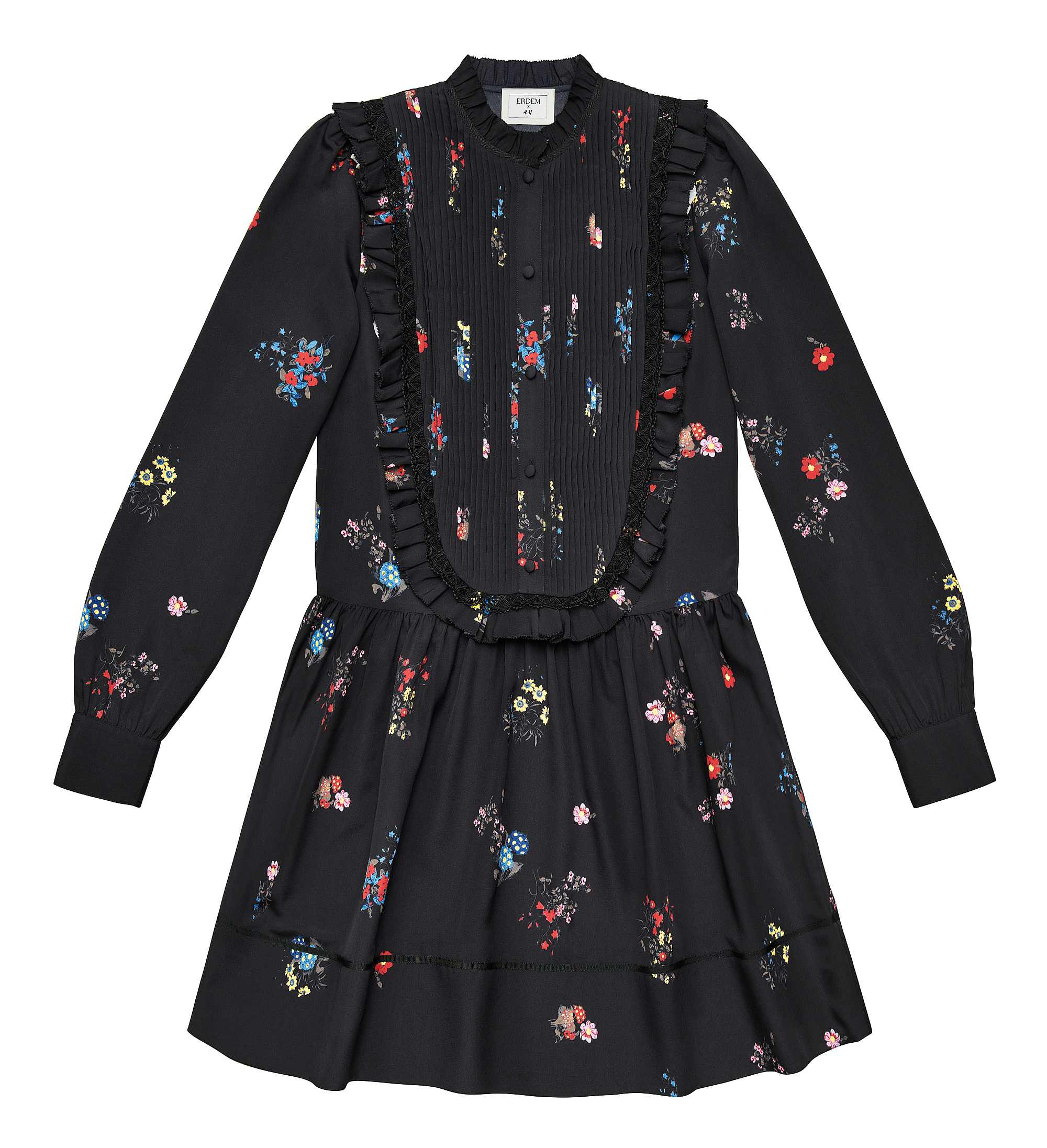 H&M x Erdem Long sleeved dress