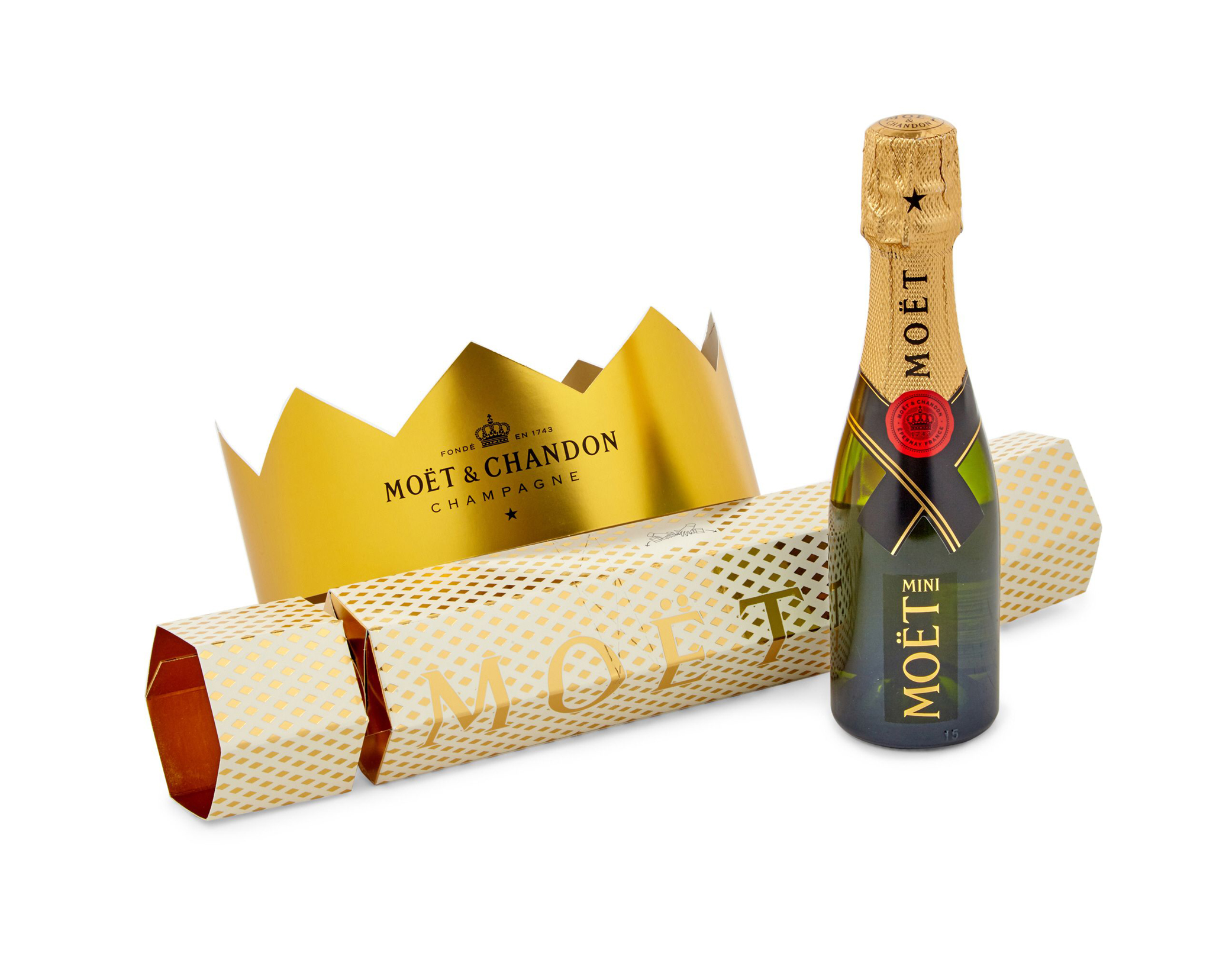 Moet & Chandon Brut Imperial Champagne Christmas Cracker, Selfridges (Moet & Chandon/PA)