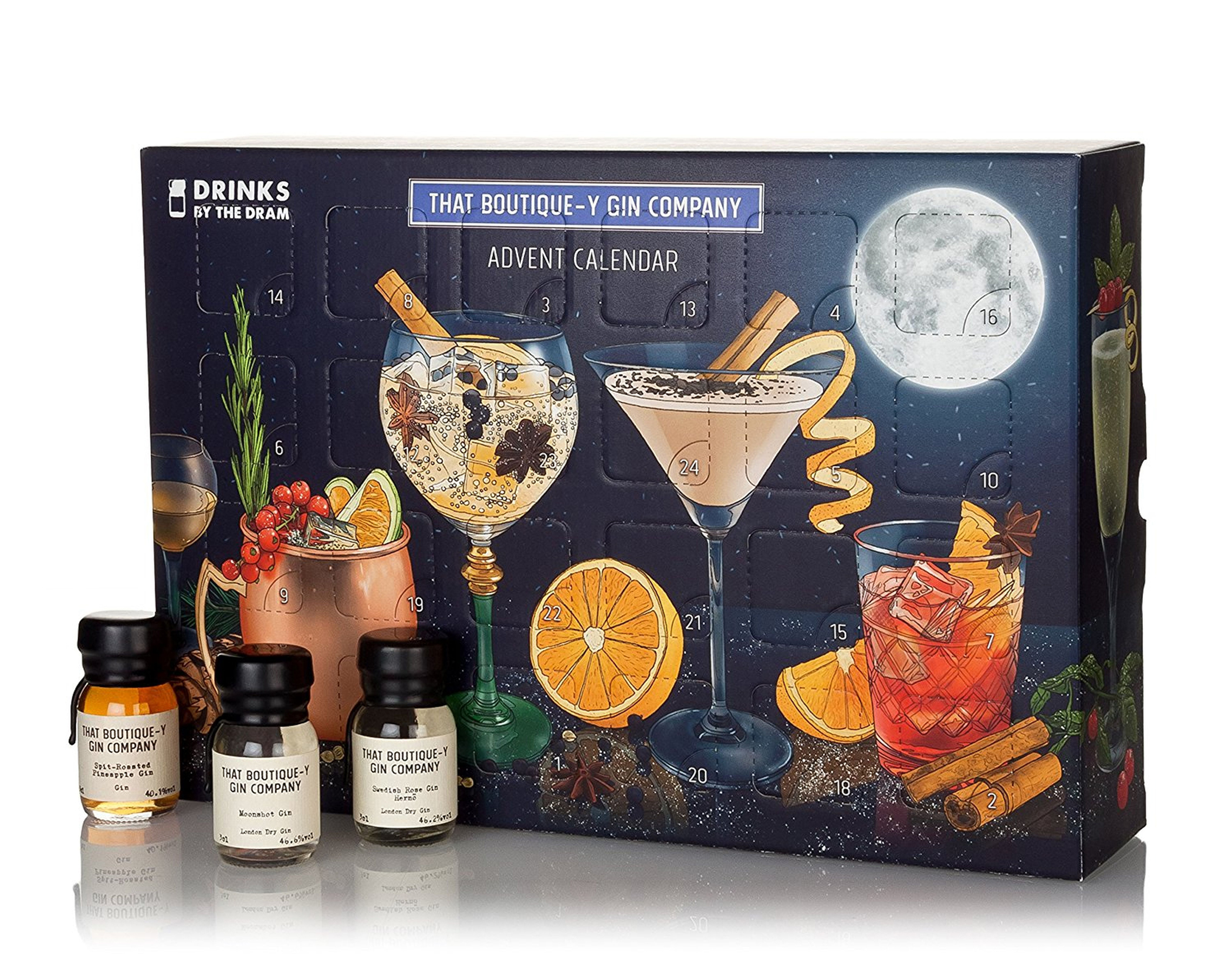 Drinks by The Dram That Boutiqu-y Gin Company's Advent Calendar, Amazon (That Boutique-y Gin Company/PA)