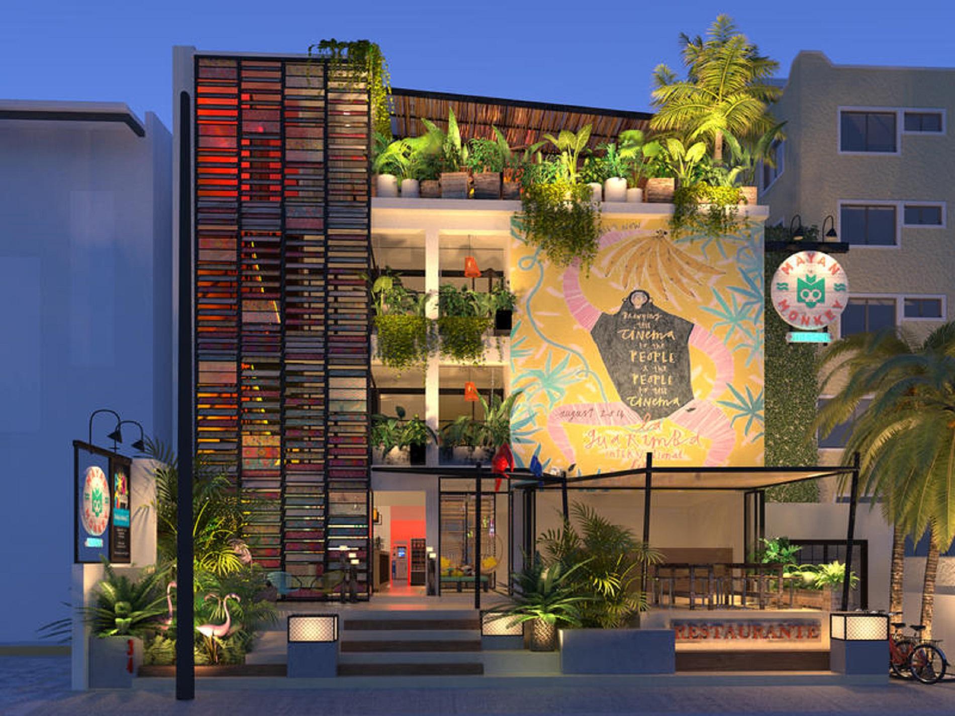 the mayan blue house cancun