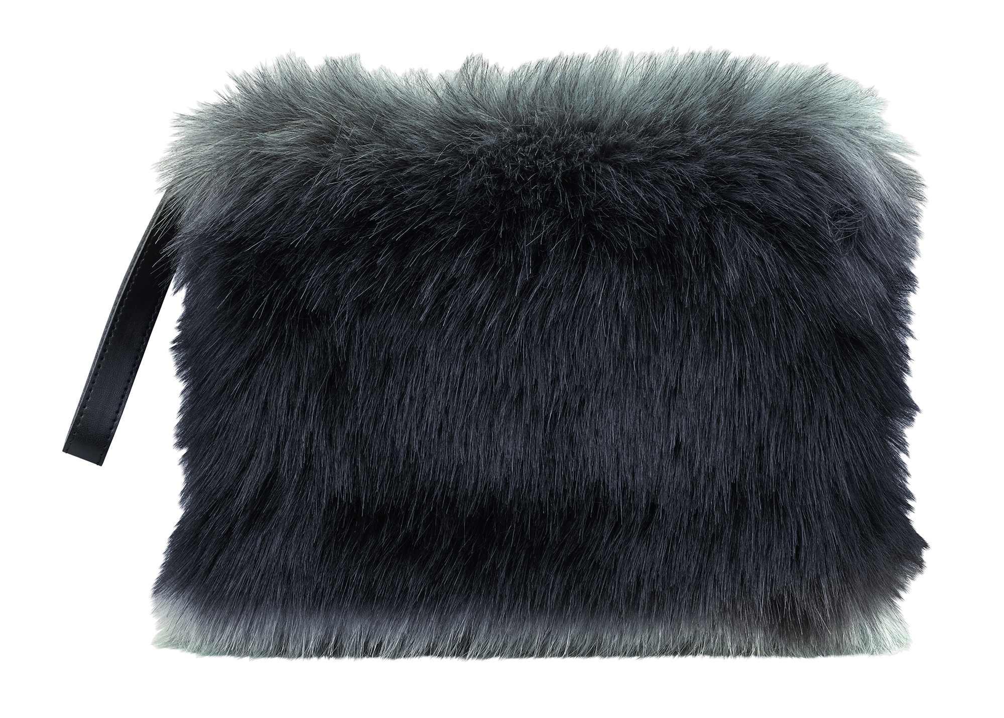 Cath Kidston Faux Fur Clutch,