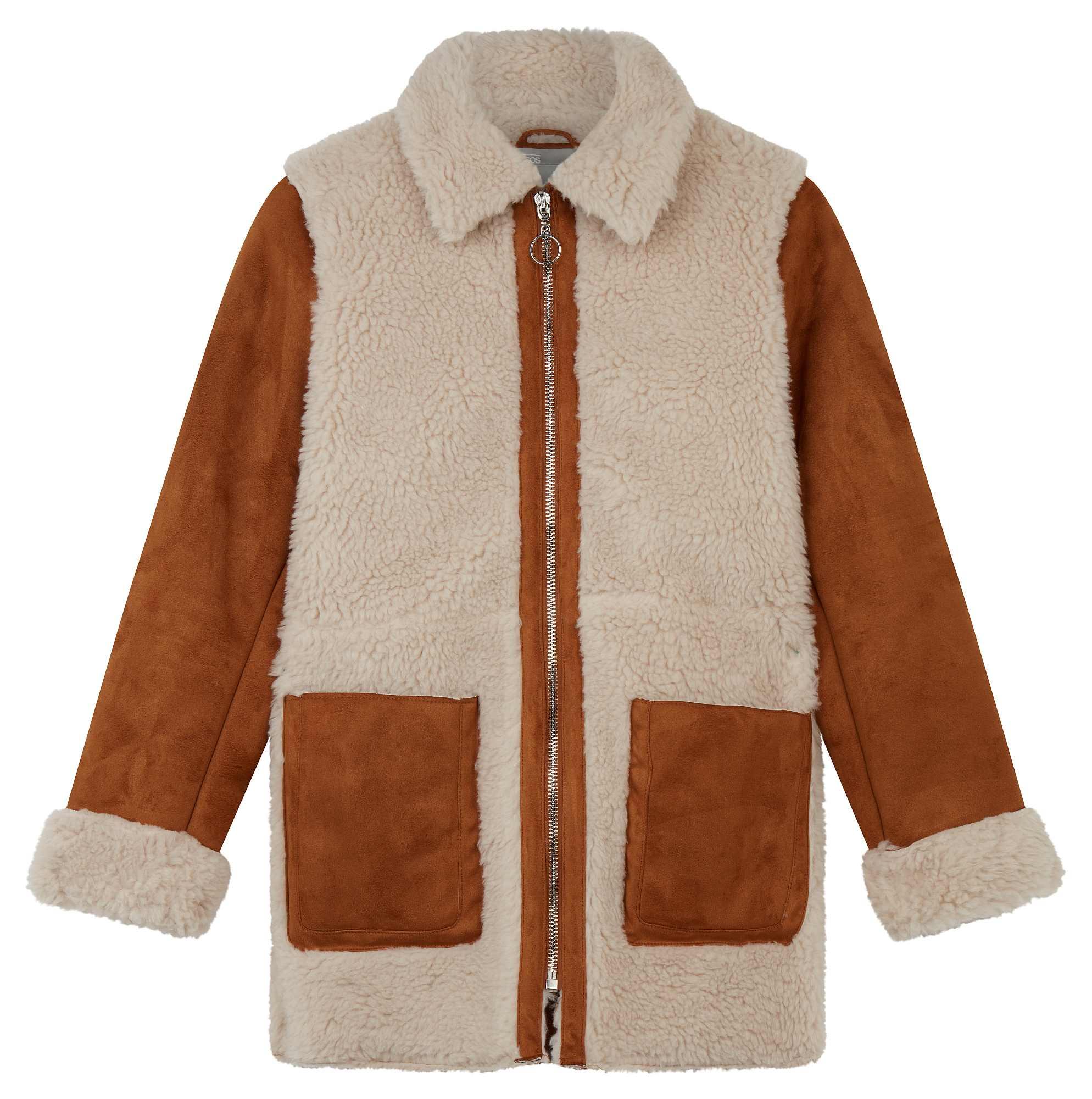 ASOS Faux Shearling Coat (ASOS/PA)
