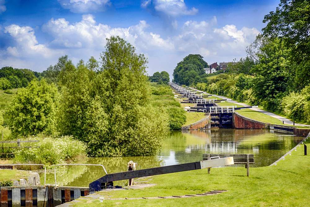 Locks at Caen Hill, Kennet and Avon. (Thinkstock/PA)