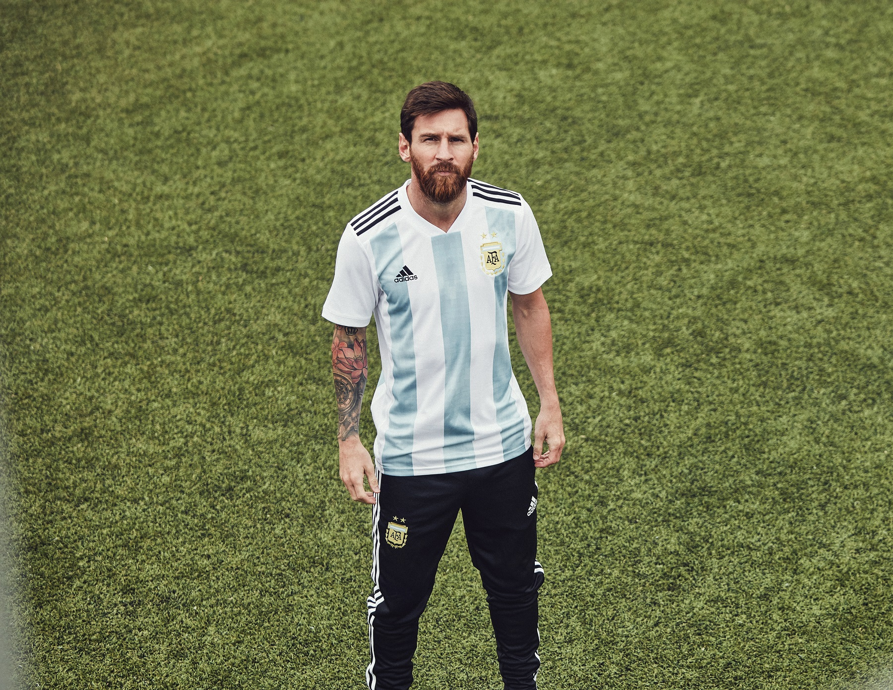 Argentina's home shirt for the 2018 World Cup in Russia