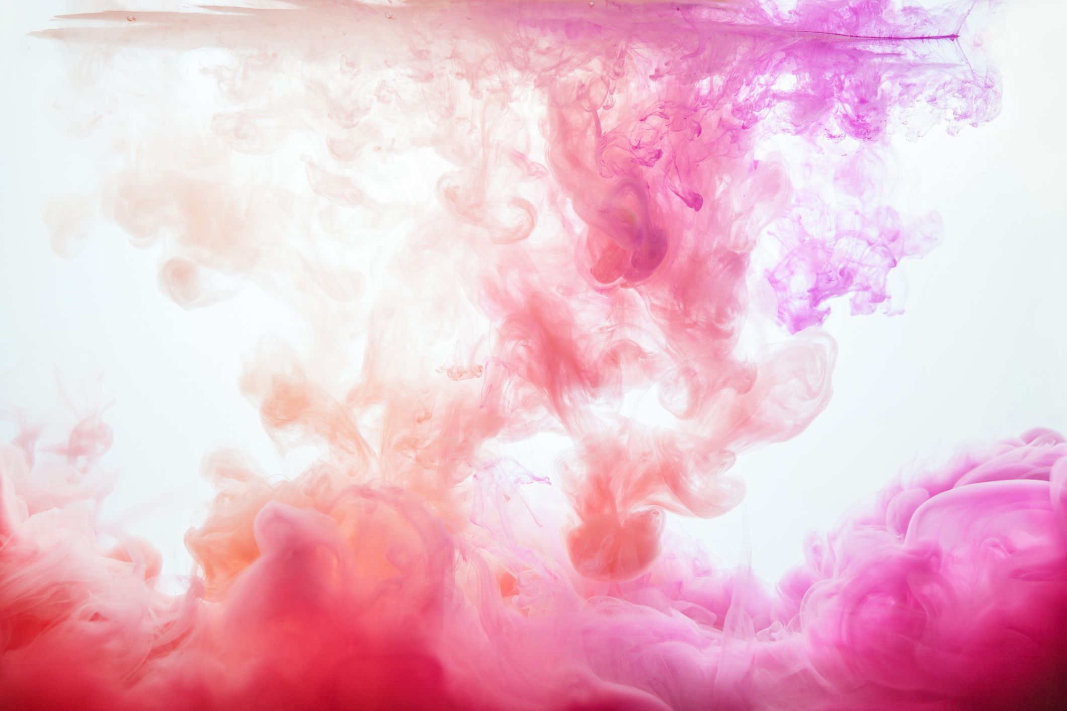 A flow of colourful pink paint (Thinkstock/PA)