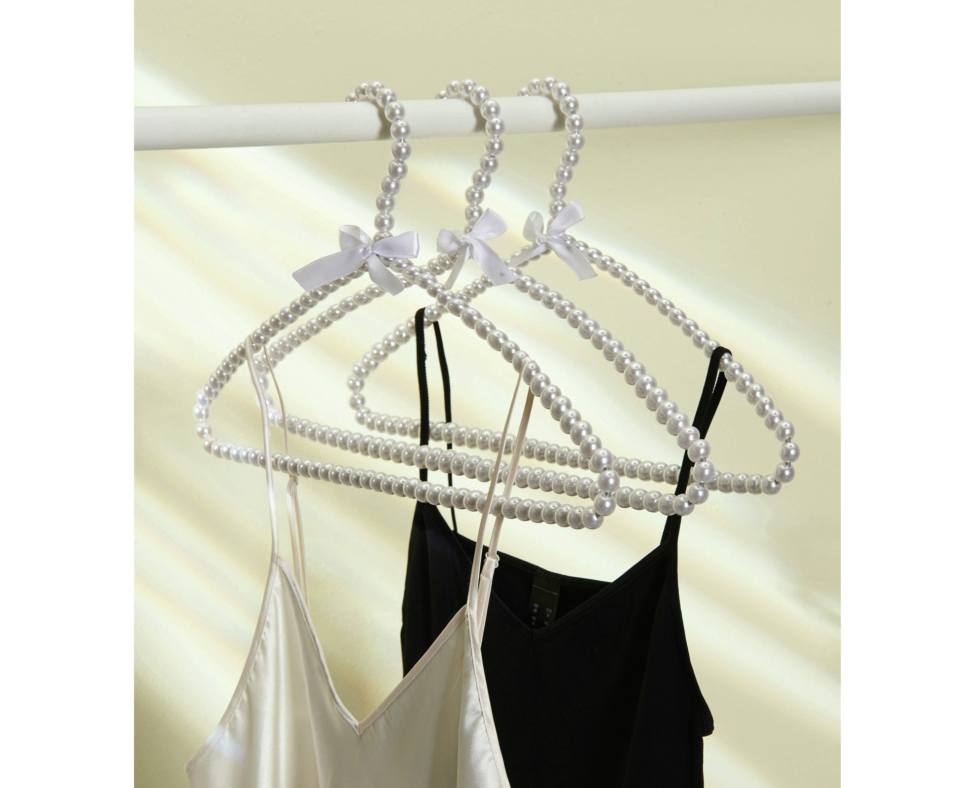 Pearl Arc Hangers, £12.95 for set of three, House of Bath