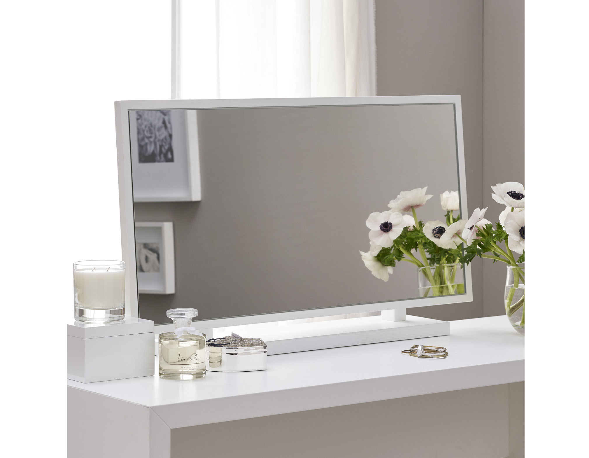 Pimlico Dressing Table Mirror, £195, The White Company