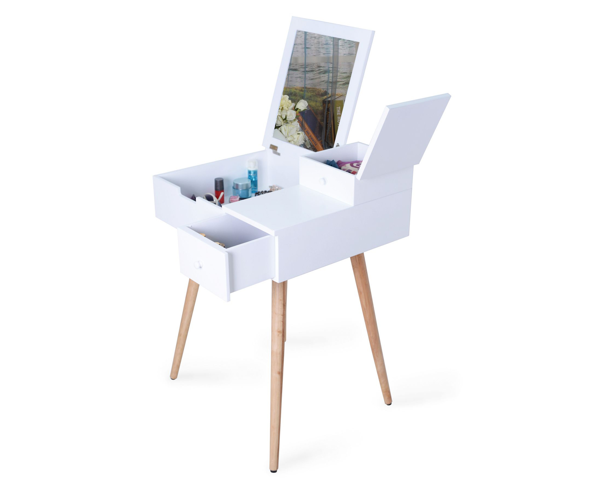 Dressing Table with Mirror, £79.99, Sue Ryder
